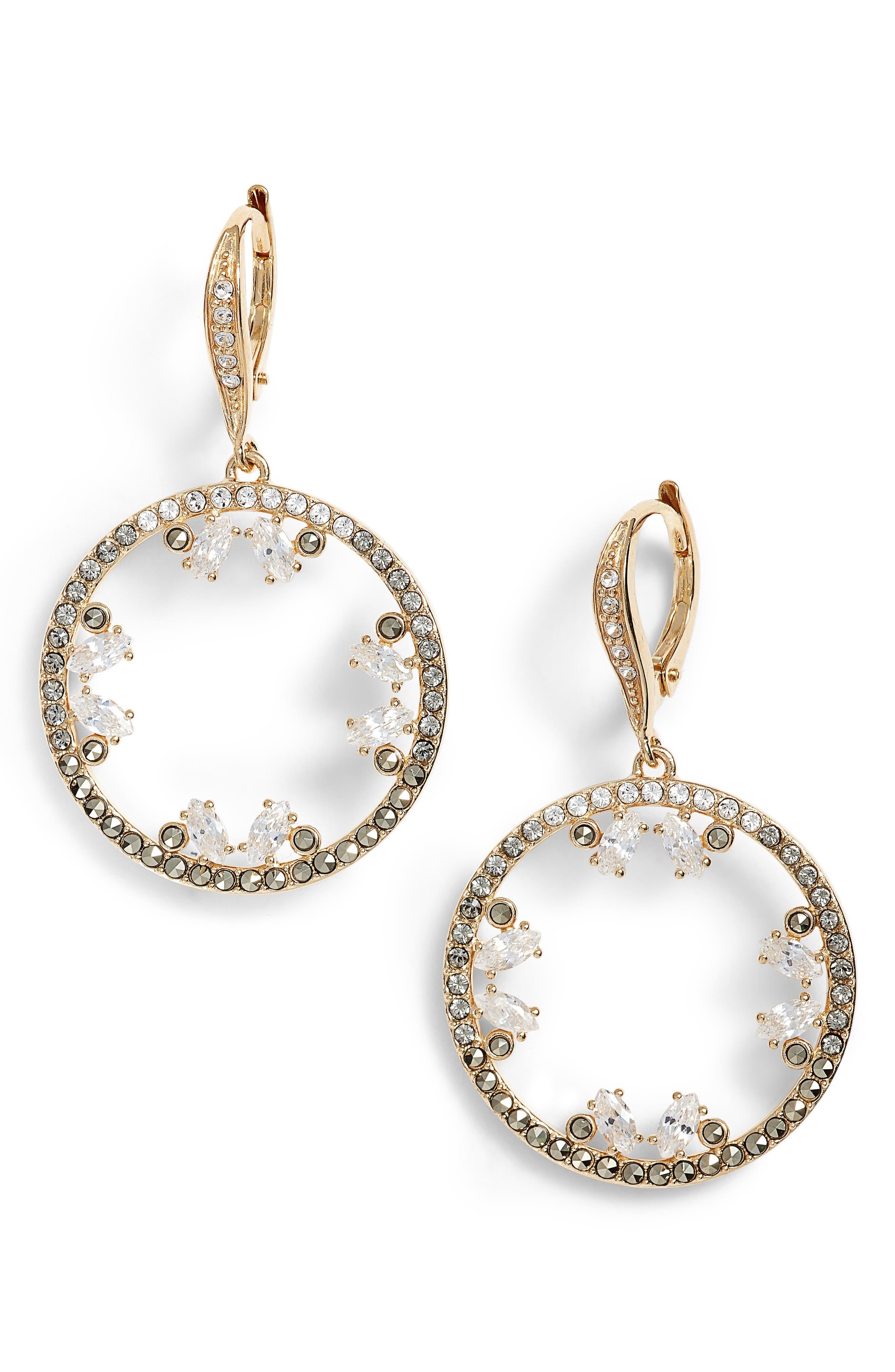 Main Image - Judith Jack Doublet Cubic Zirconia Drop Earrings
