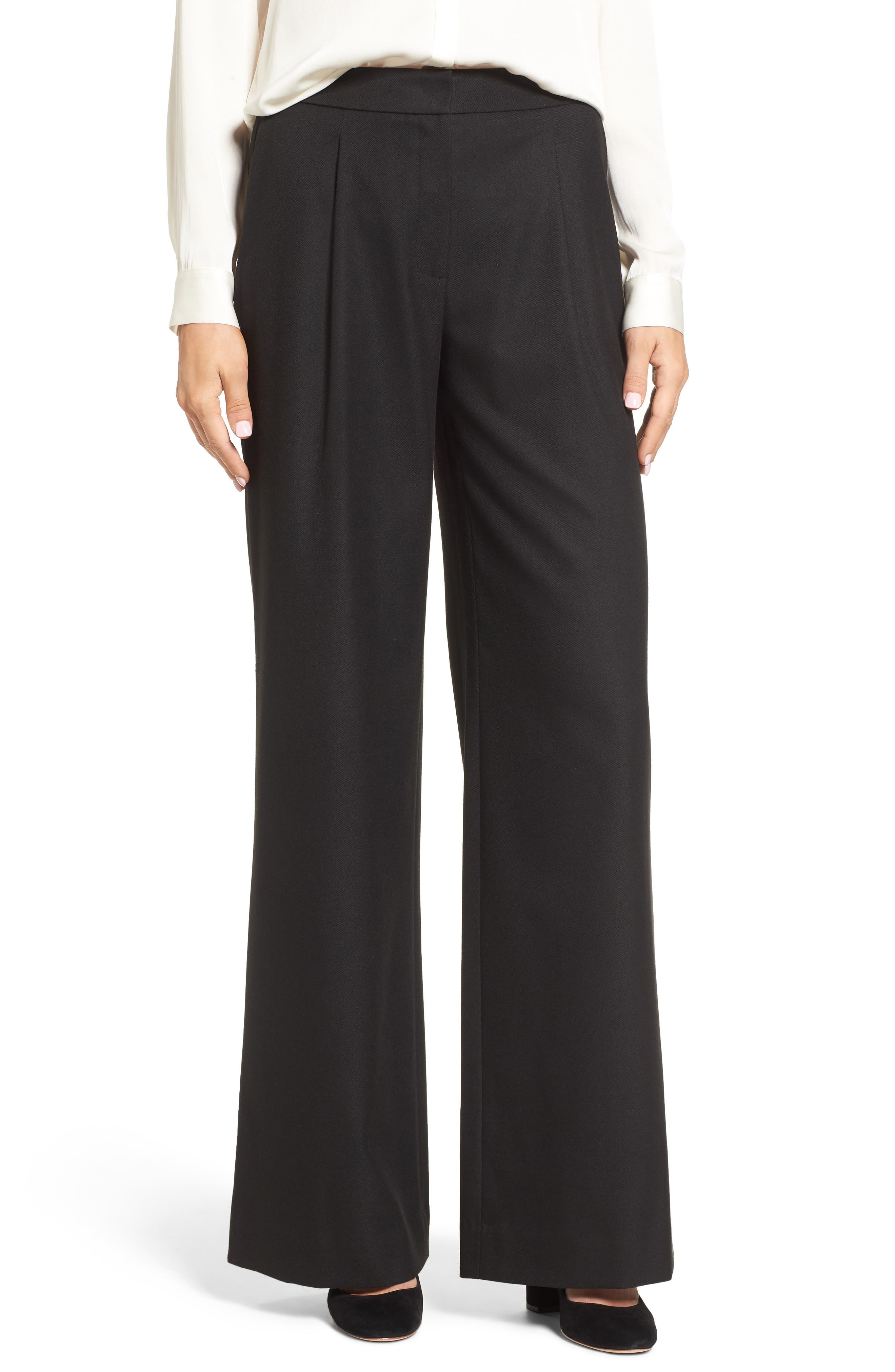 Emerson Rose Wide Leg Flannel Pants