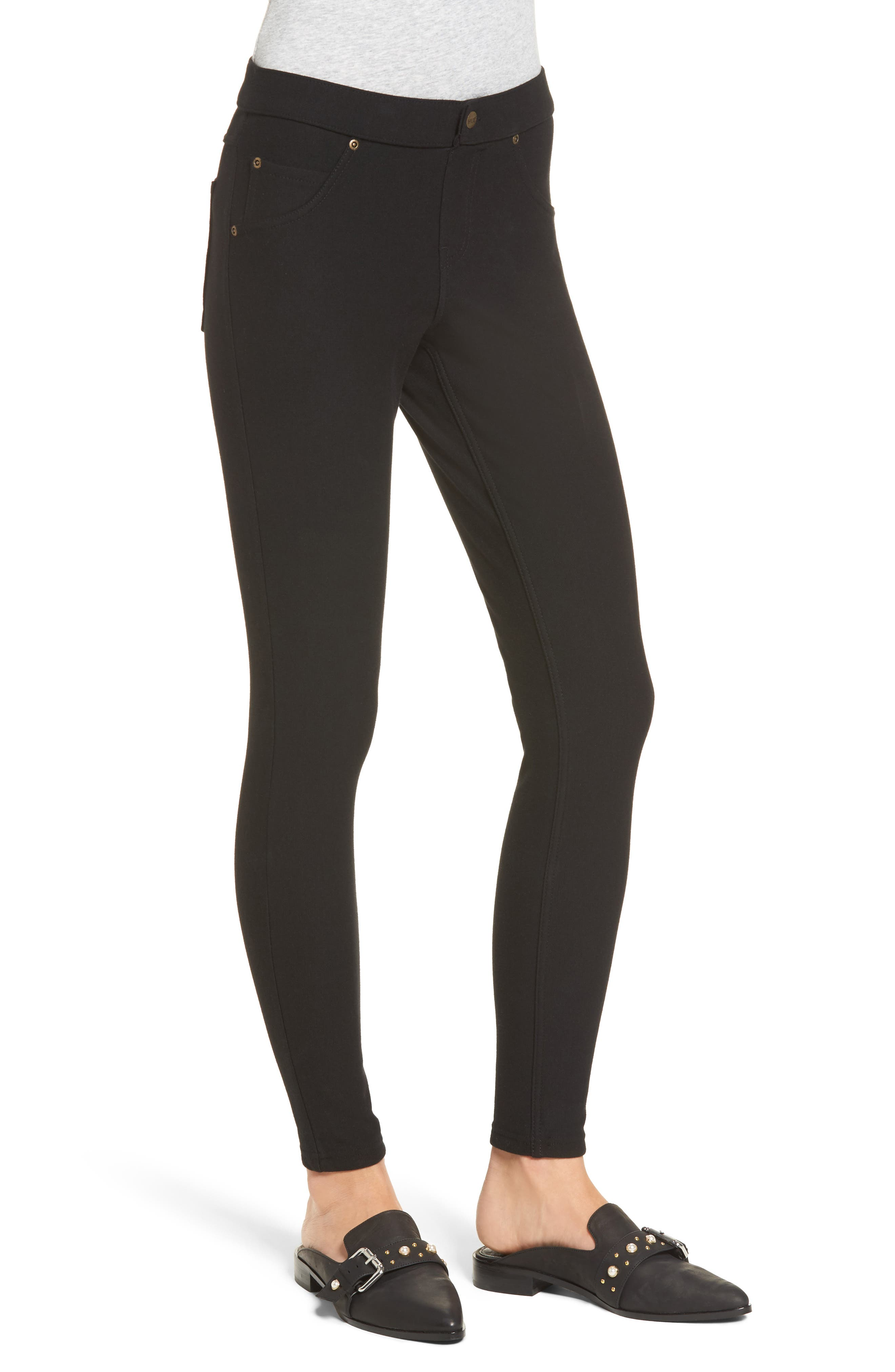 Alternate Image 3  - Hue Fleece Lined Leggings