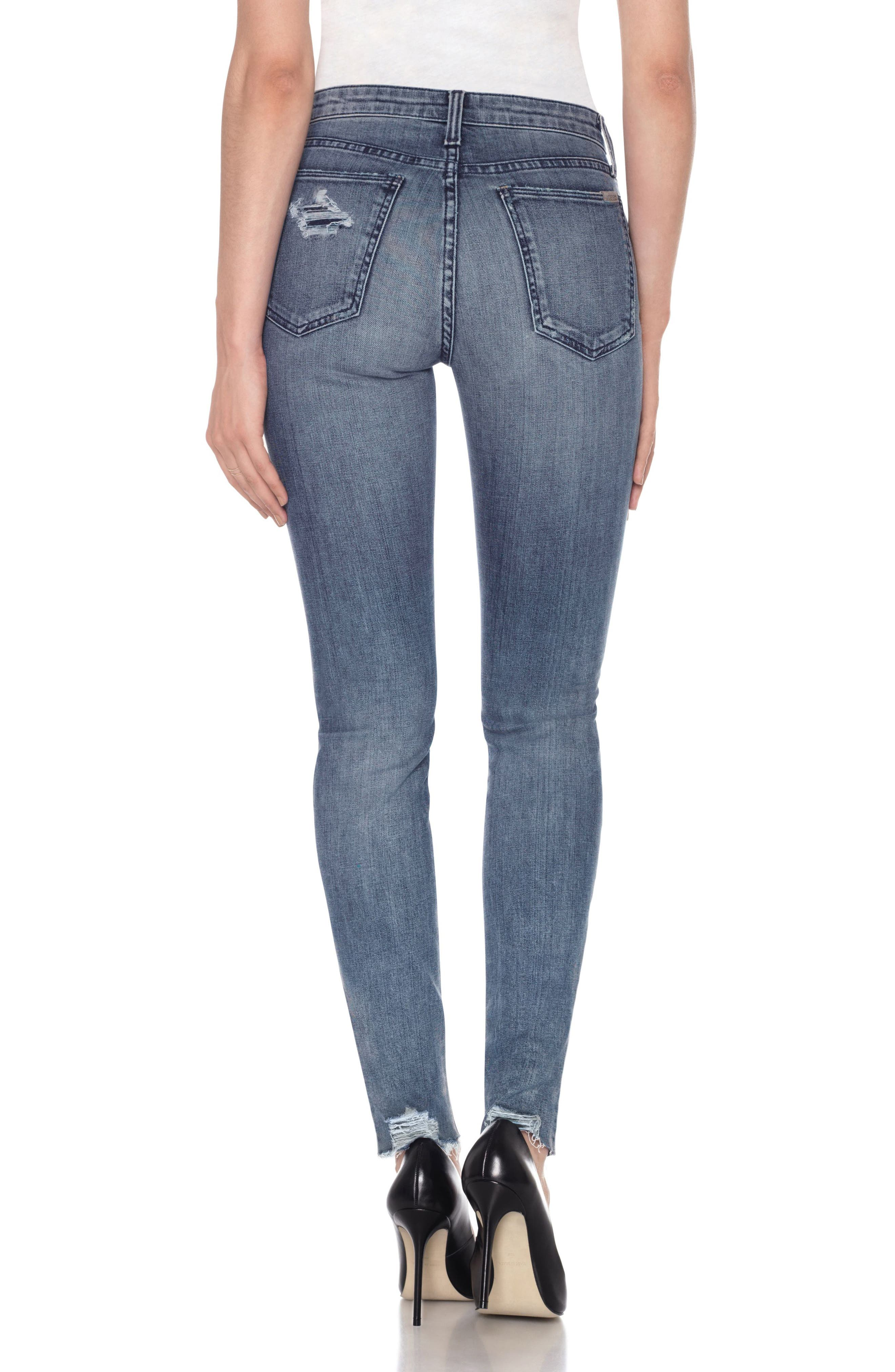 Alternate Image 2  - Joe's Charlie High Waist Skinny Jeans (Shanti)