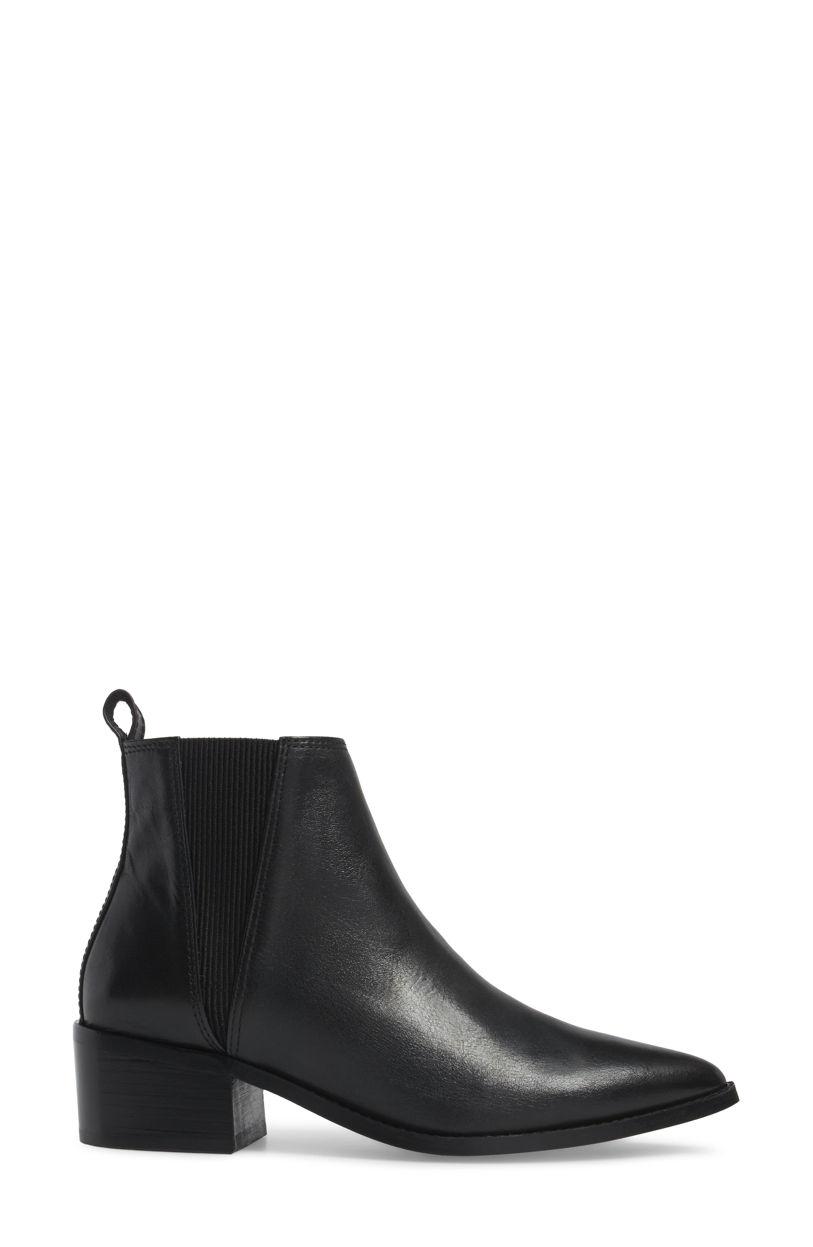 Ula Chelsea Bootie,                             Alternate thumbnail 3, color,                             Black