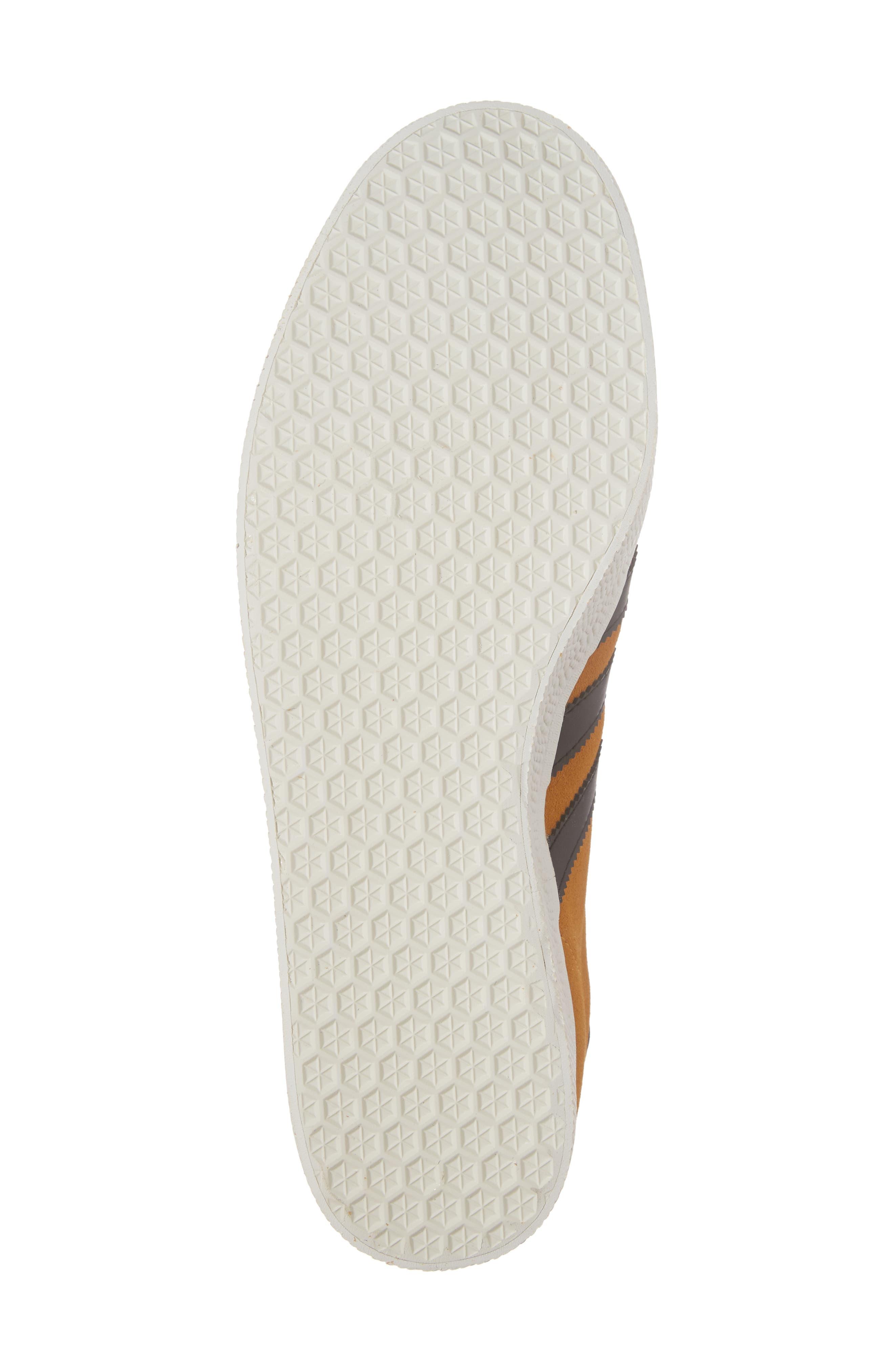 Gazelle Sneaker,                             Alternate thumbnail 6, color,                             Yellow/ Core Black/ Gold