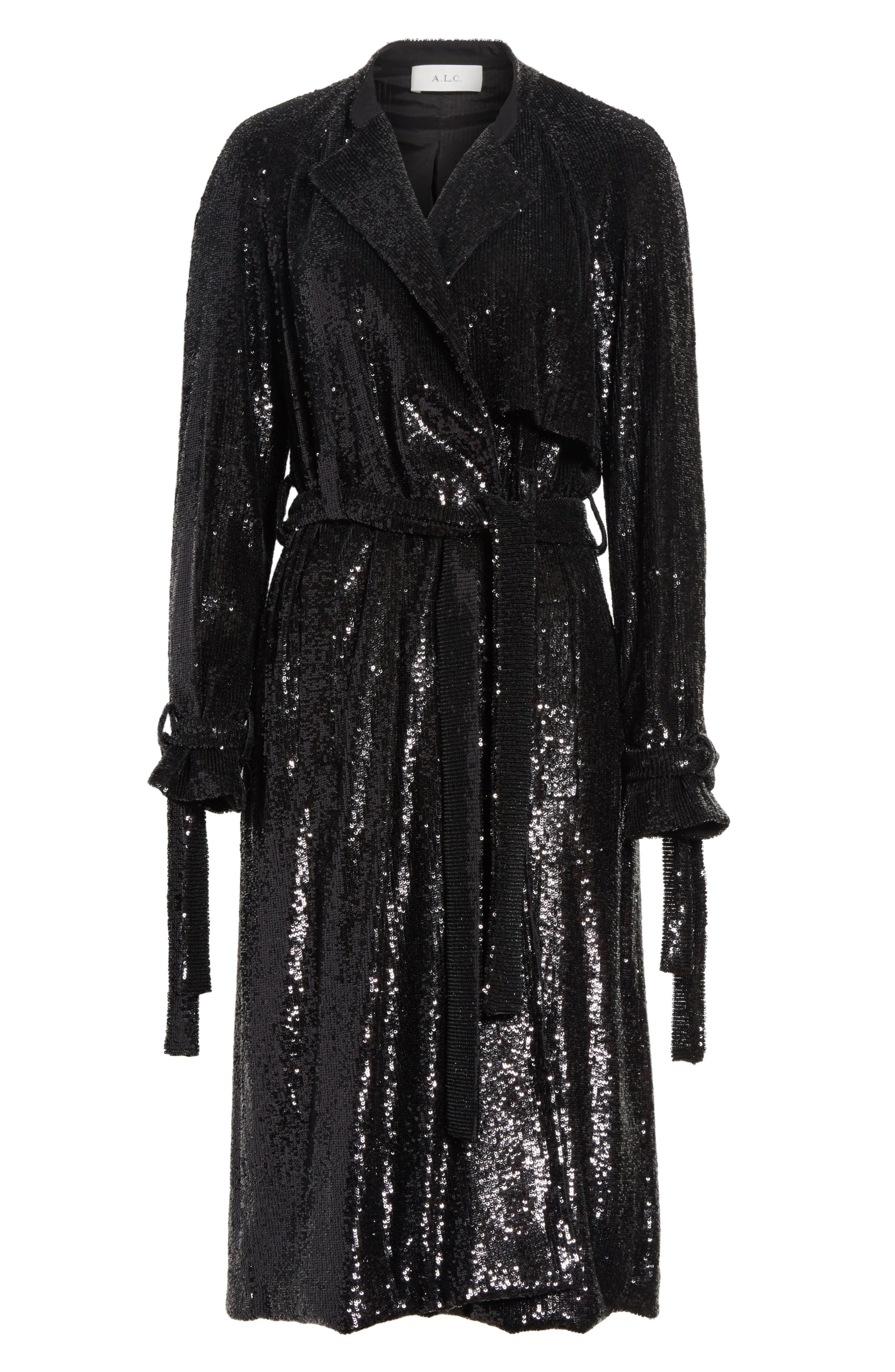 Alternate Image 6  - A.L.C. Holloway Sequin Coat