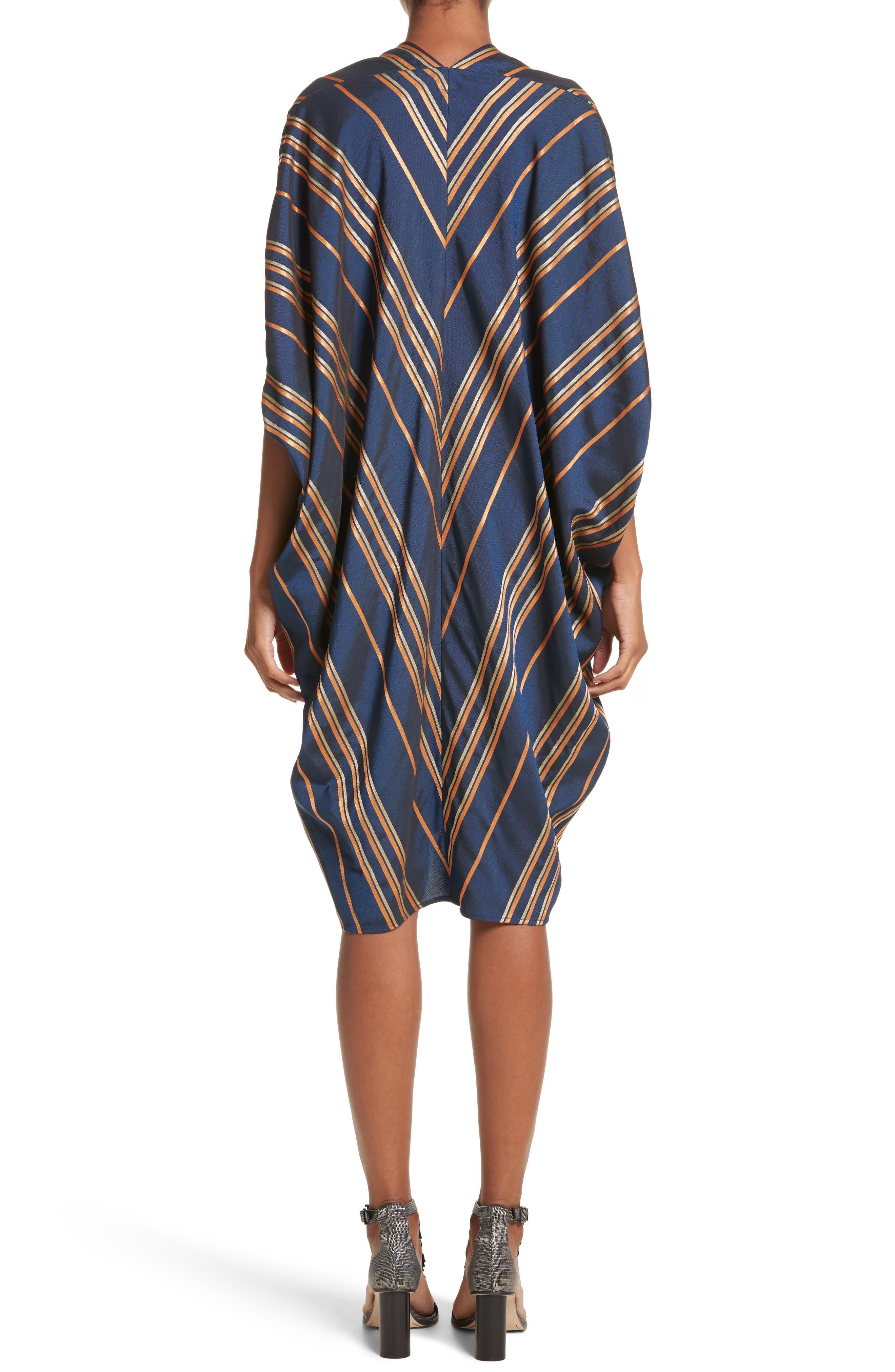 Stripe Dress,                             Alternate thumbnail 2, color,                             Mykonos/Papaya