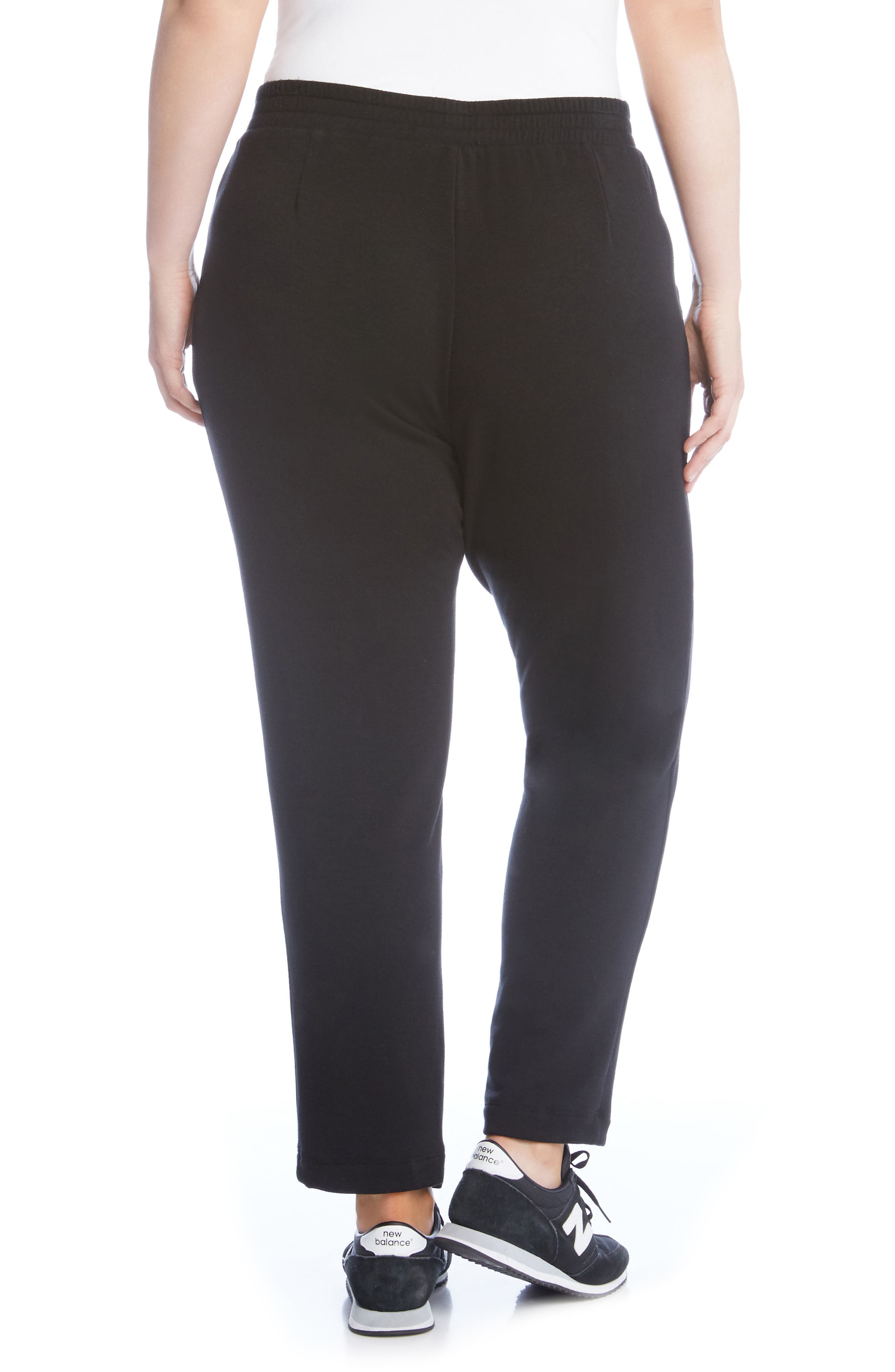 Pull-On Sweatpants,                             Alternate thumbnail 2, color,                             Black