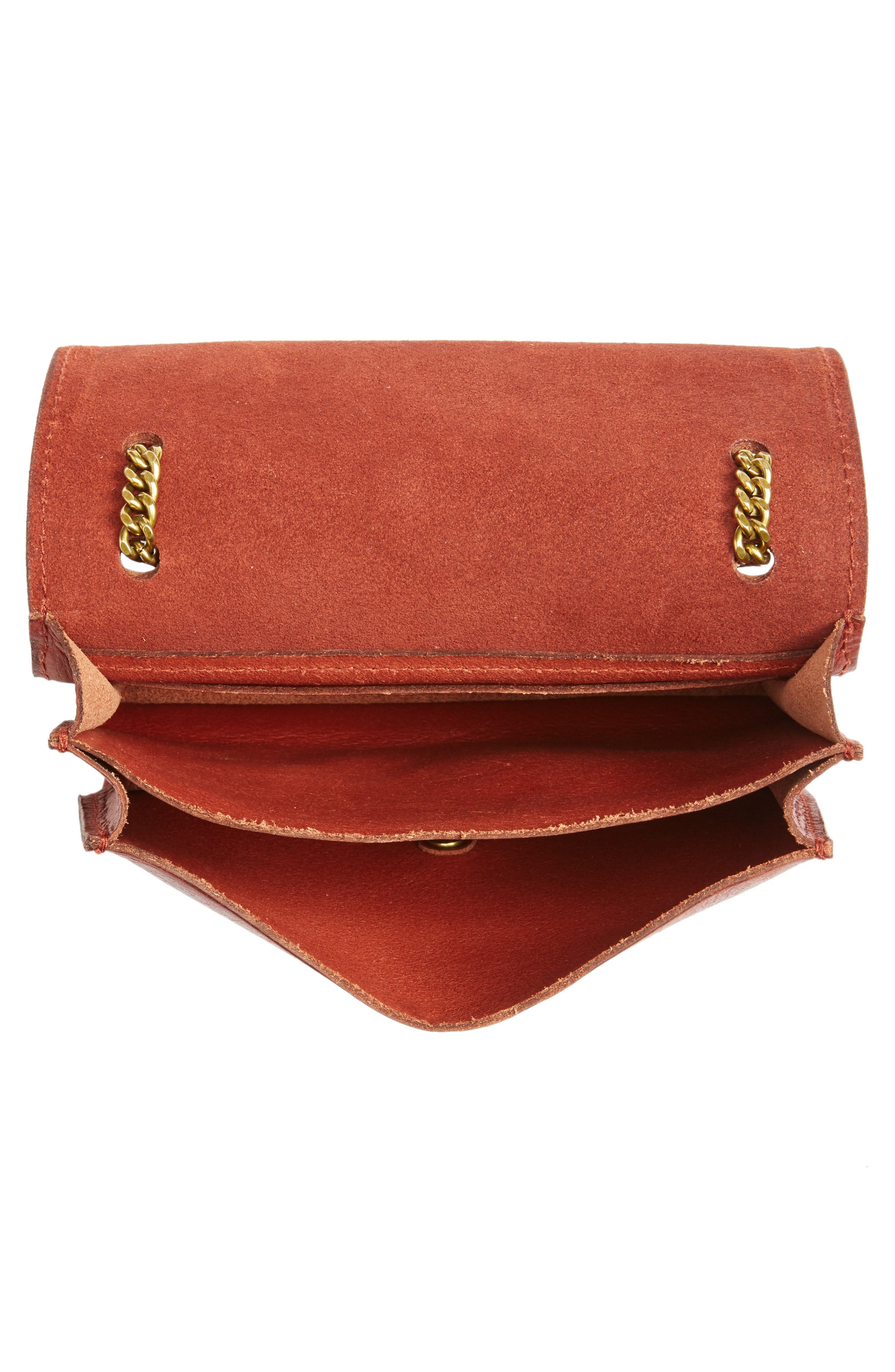 Alternate Image 4  - Madewell Leather Crossbody Wallet