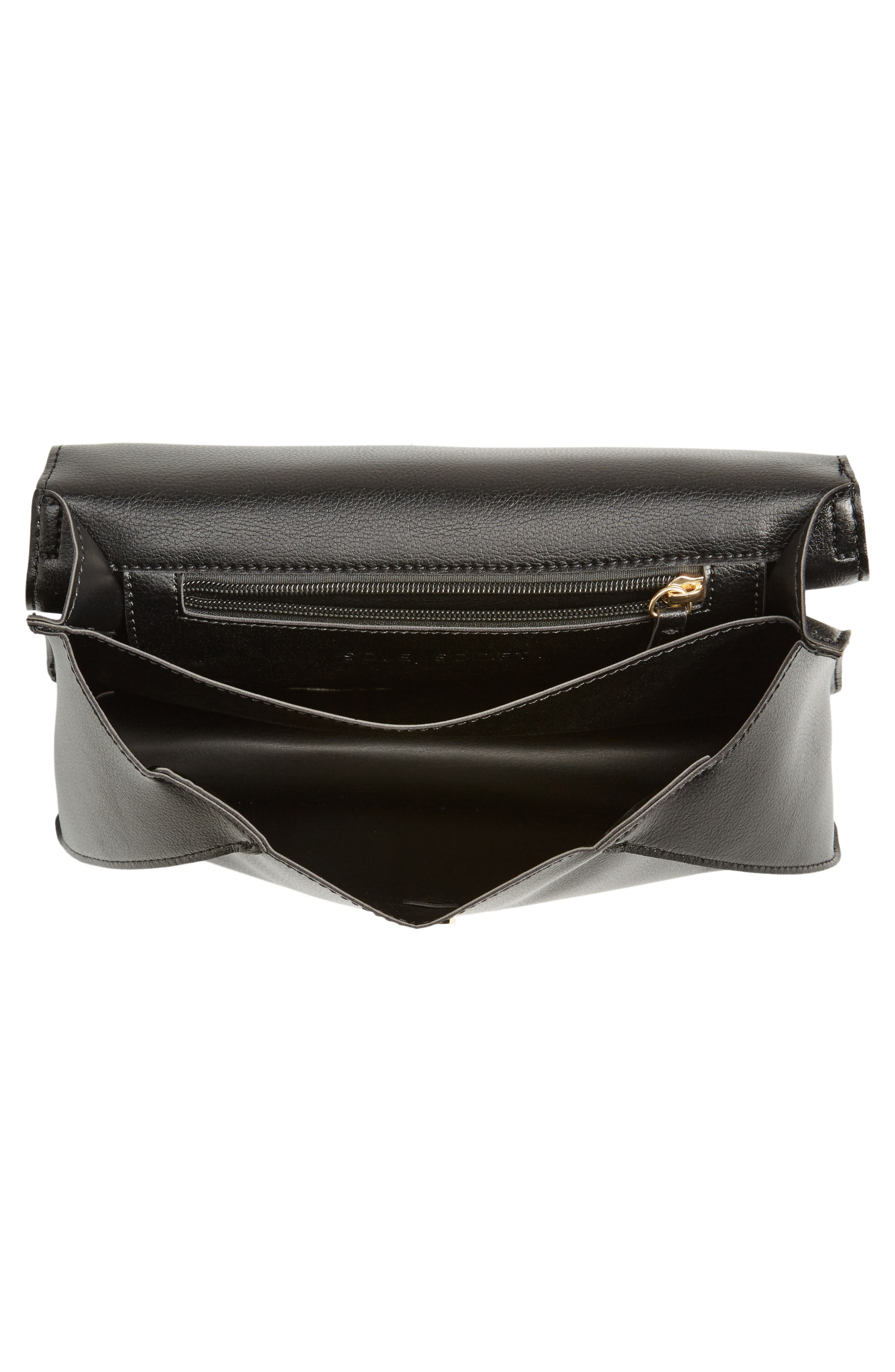 Alternate Image 3  - Sole Society Izzy Faux Leather Top Handle Satchel