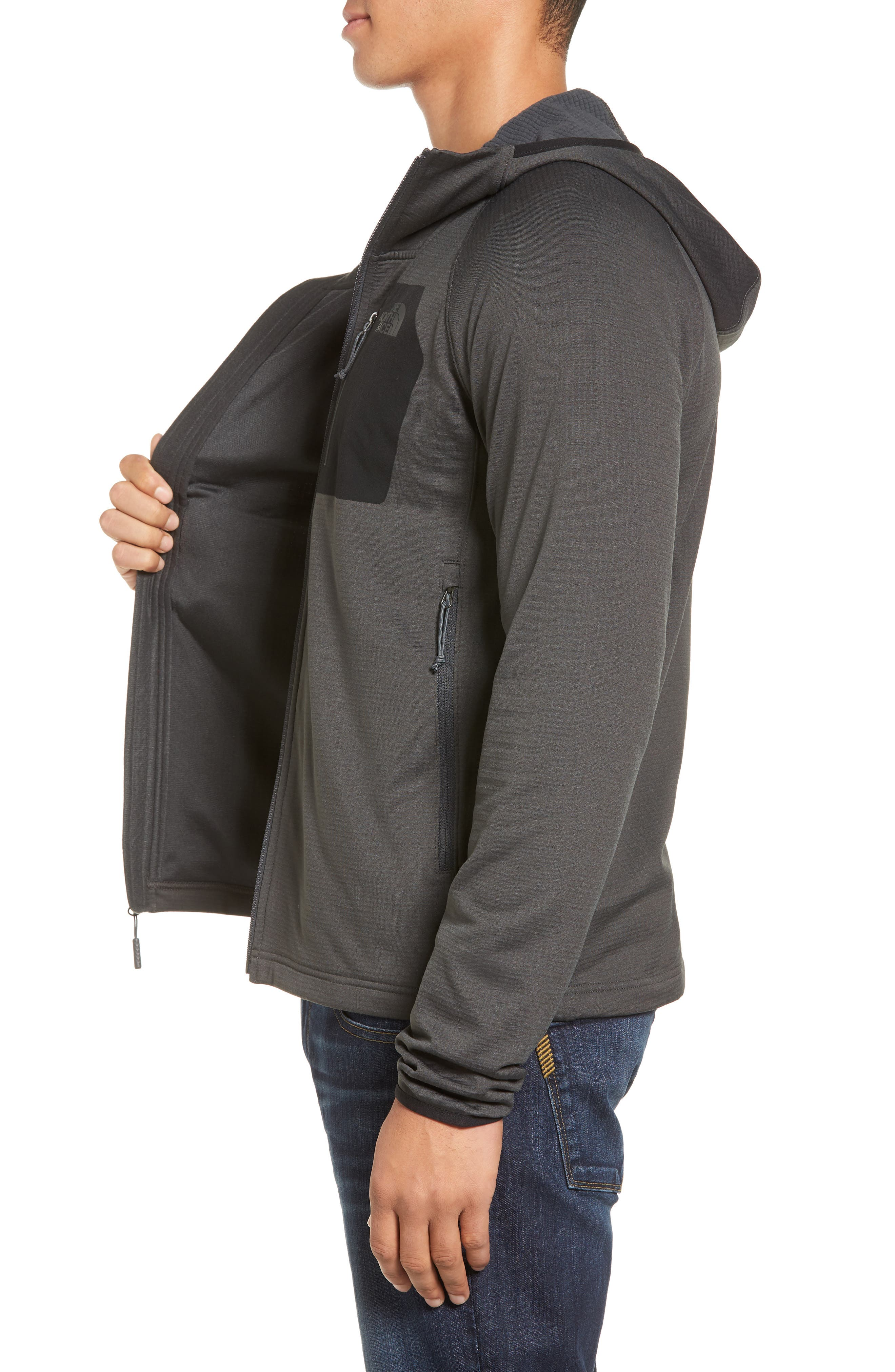 Alternate Image 3  - The North Face Borod Zip Fleece Jacket