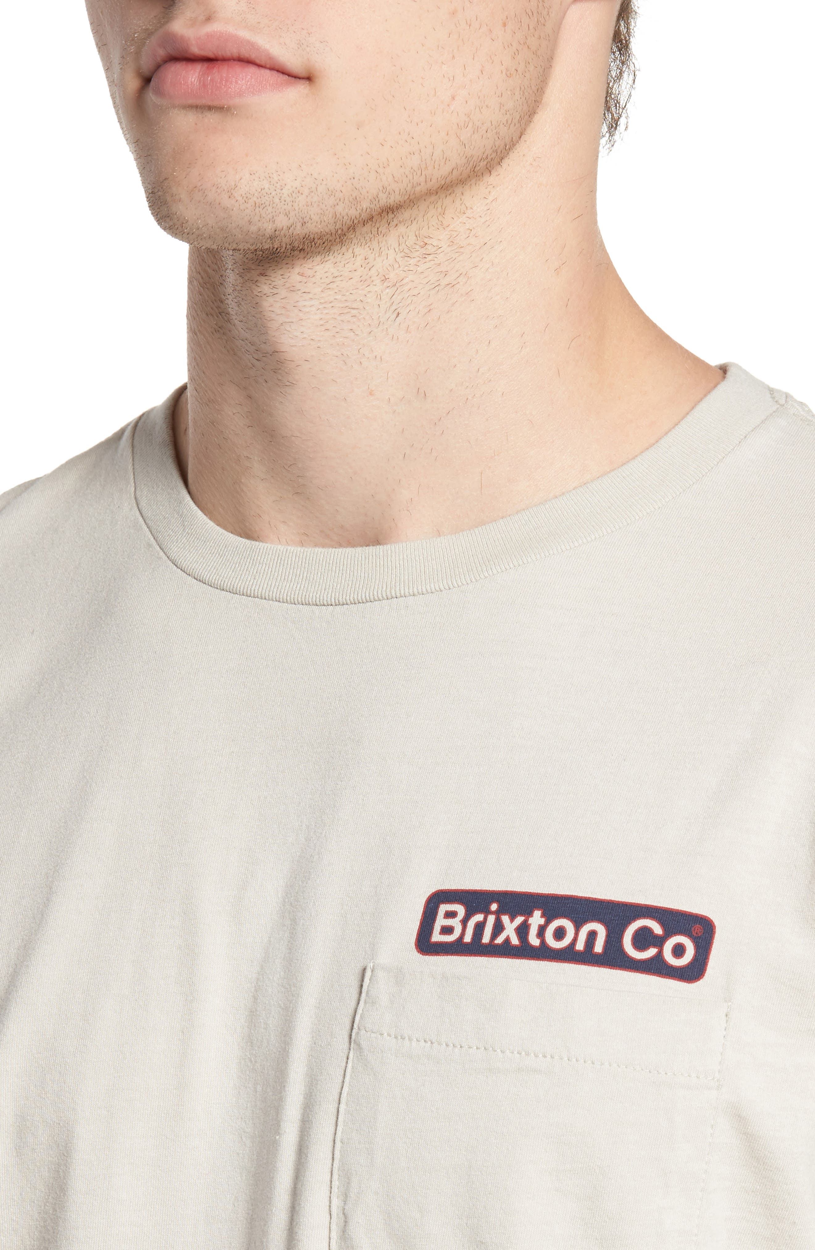 Alternate Image 4  - Brixton Maron Long Sleeve T-Shirt