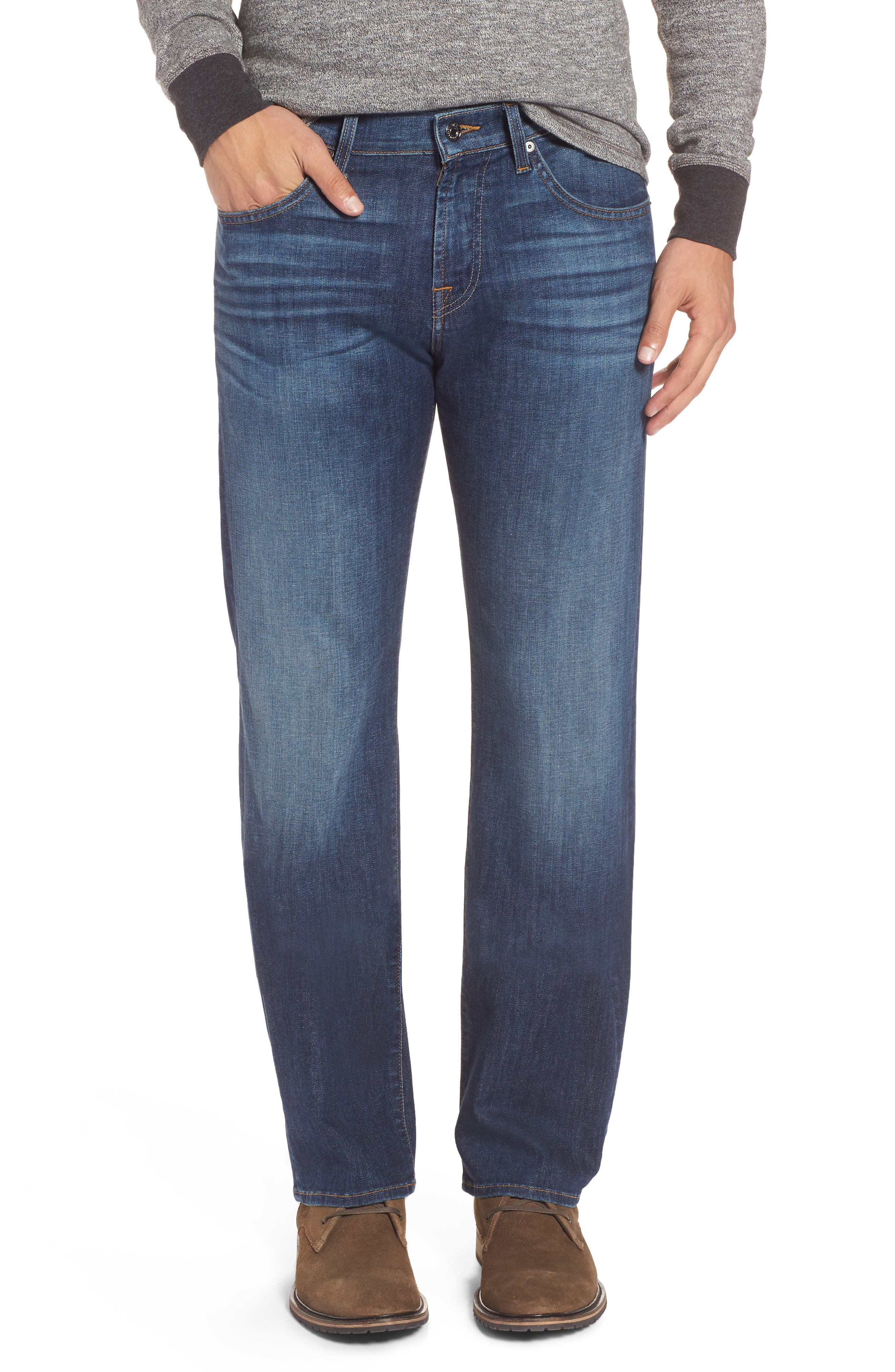 7 For All Mankind® Austyn Relaxed Fit Jeans (Saratoga)