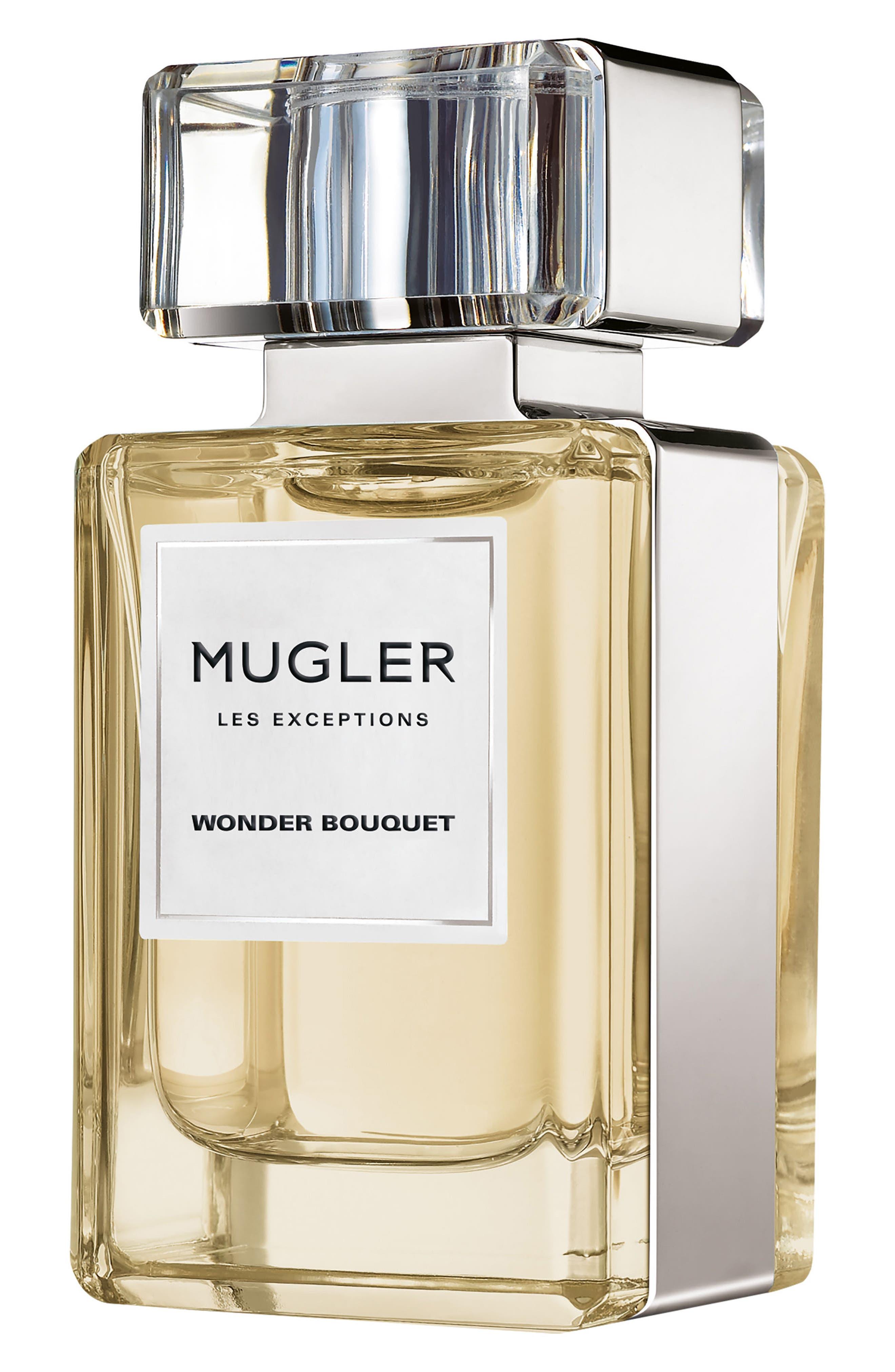 Mugler Les Exceptions Wonder Bouquet Eau de Parfum Refillable Spray,                             Main thumbnail 1, color,                             No Color