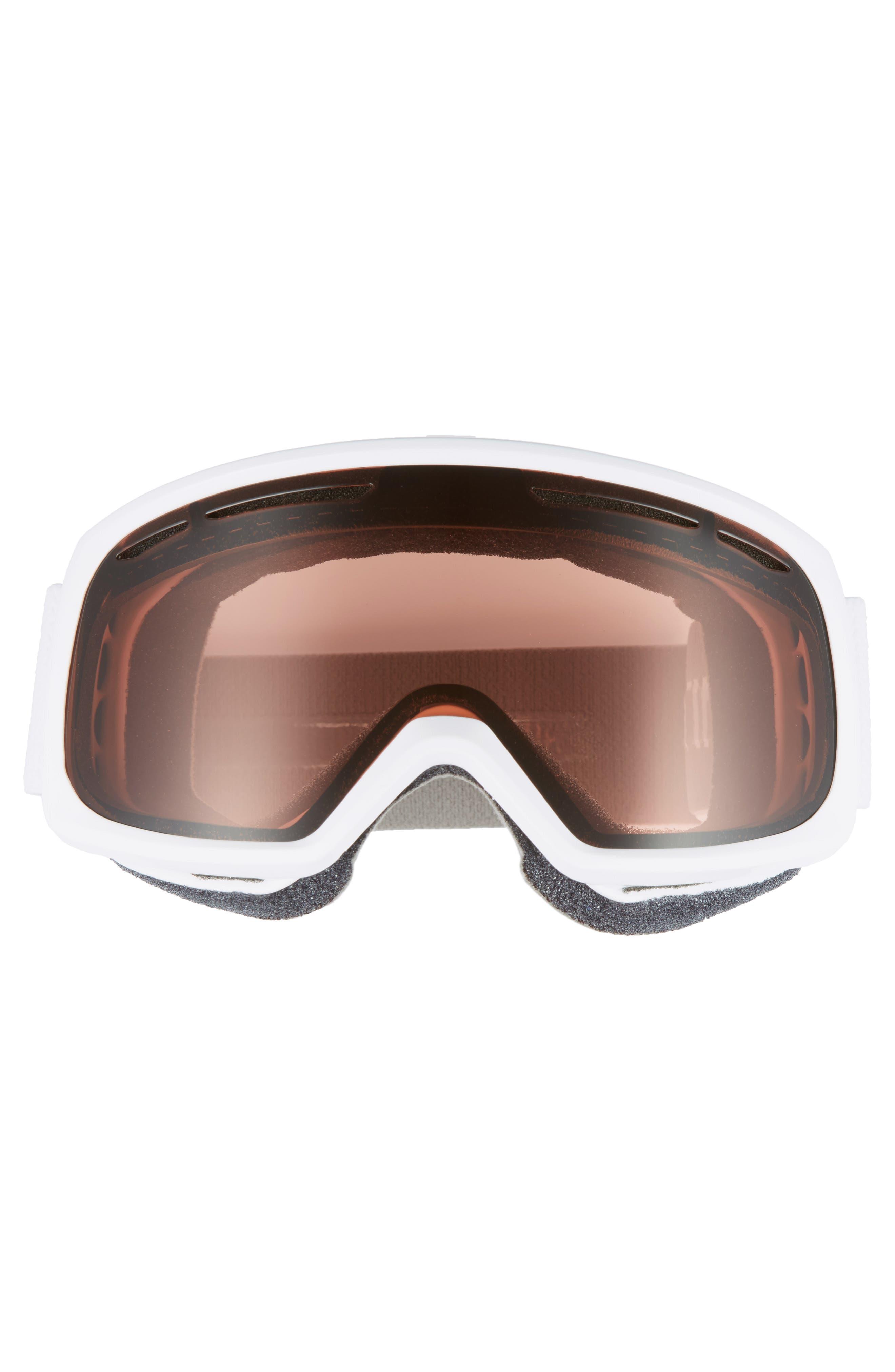 Drift Snow Goggles,                             Alternate thumbnail 2, color,                             White/ Mirror