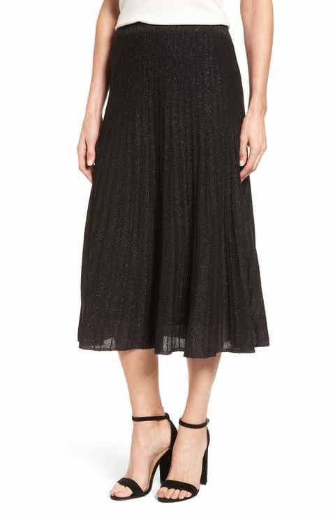 NIC+ZOE Luminary Pleated Midi Skirt