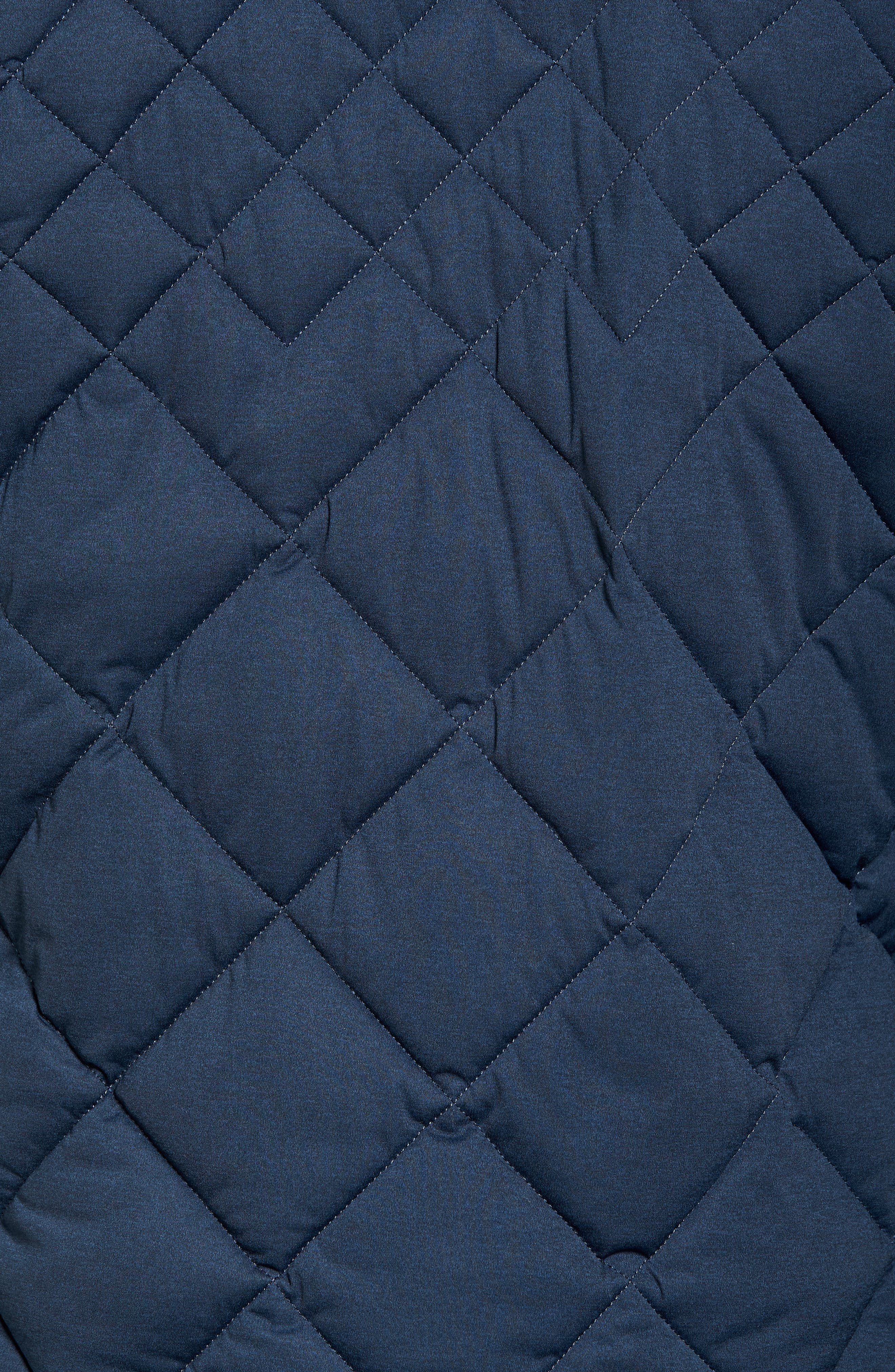 Alternate Image 5  - Save The Duck Stretch Quilted Field Jacket