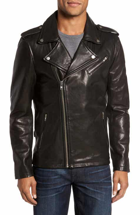 d826a77a37be Men's Leather (Genuine) Coats & Jackets | Nordstrom