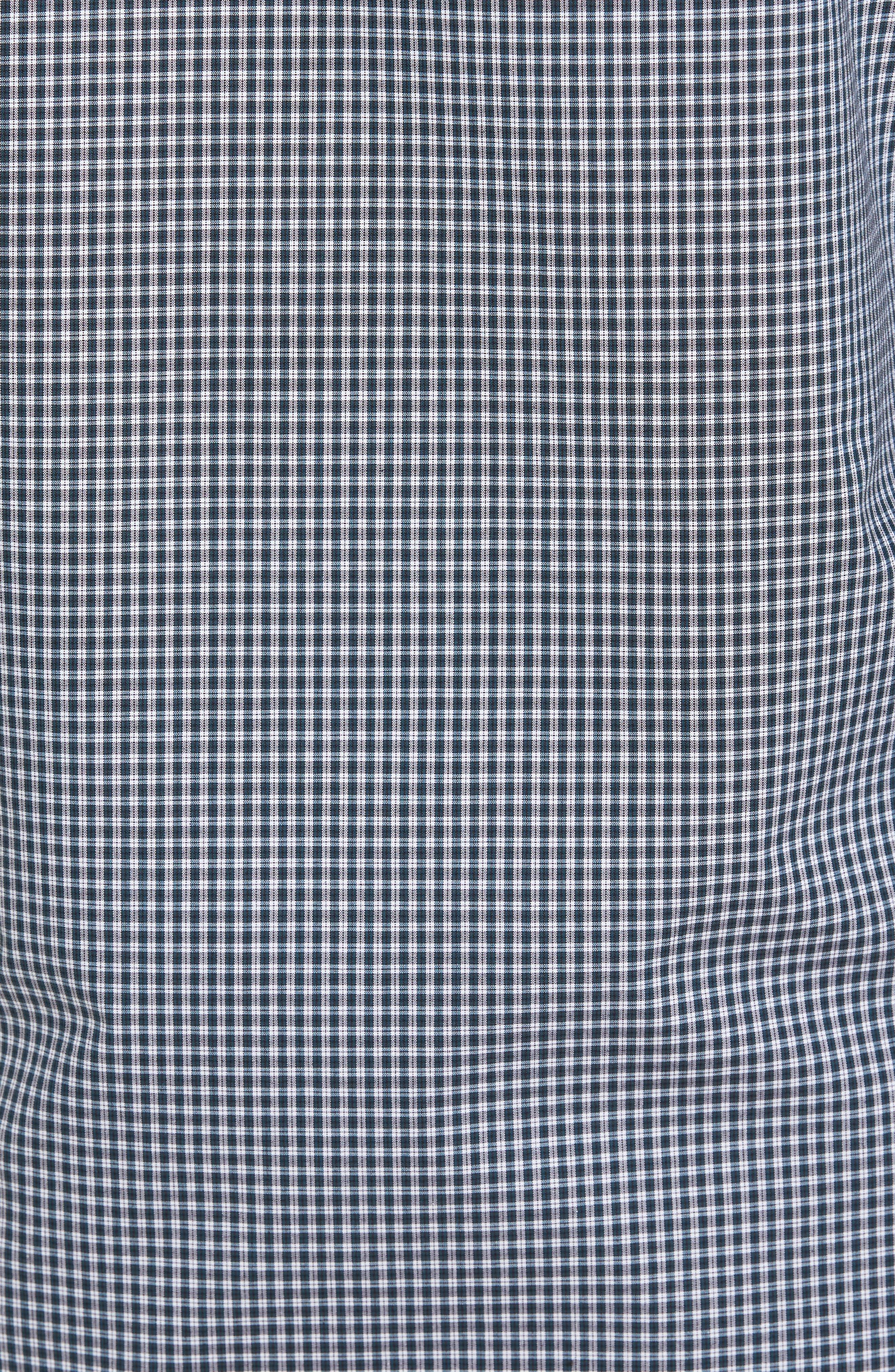 Alternate Image 5  - Nordstrom Men's Shop Smartcare™ Regular Fit Plaid Sport Shirt