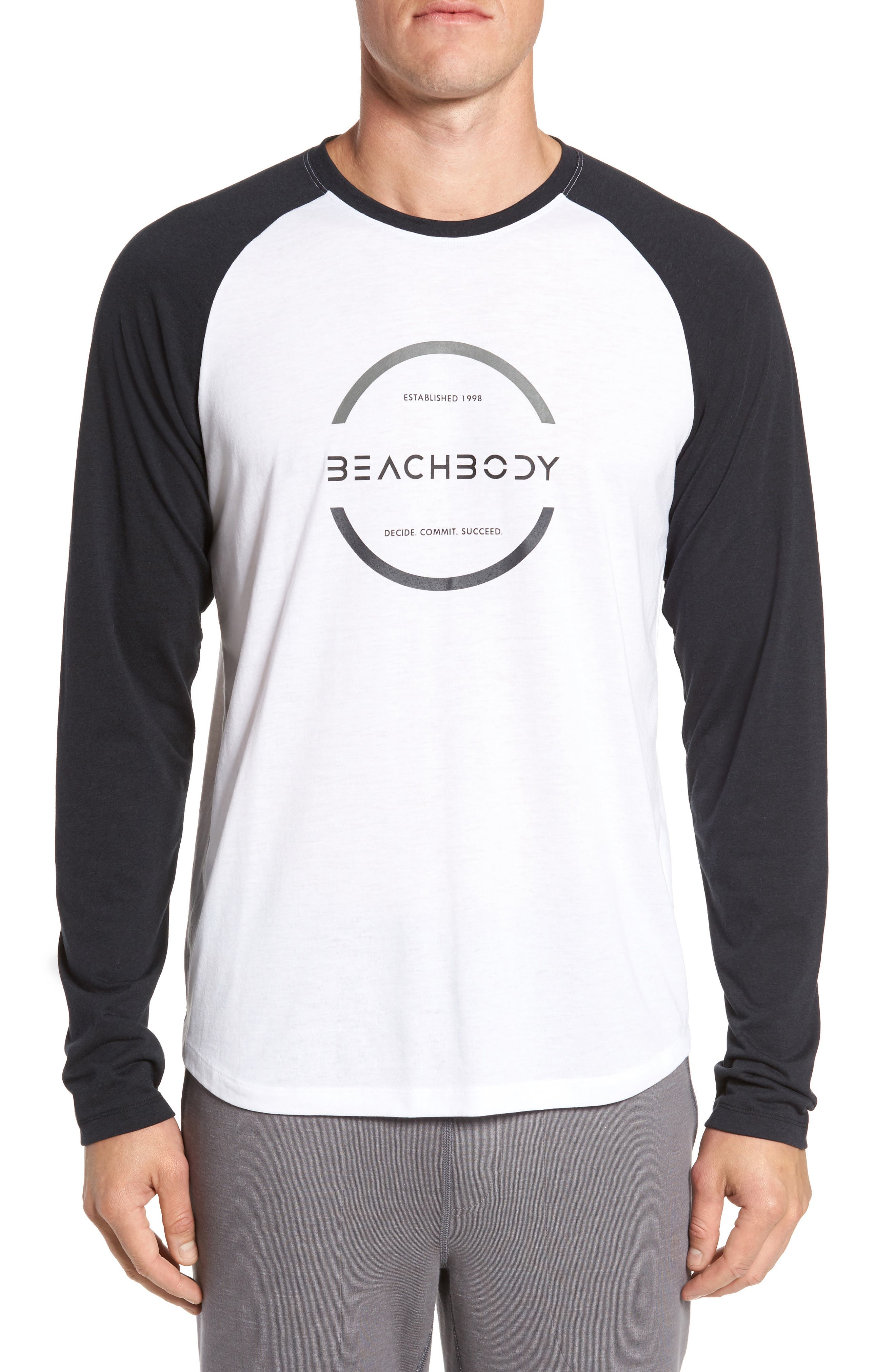 Alternate Image 1 Selected - Beachbody Go-To Infinity Long Sleeve T-Shirt