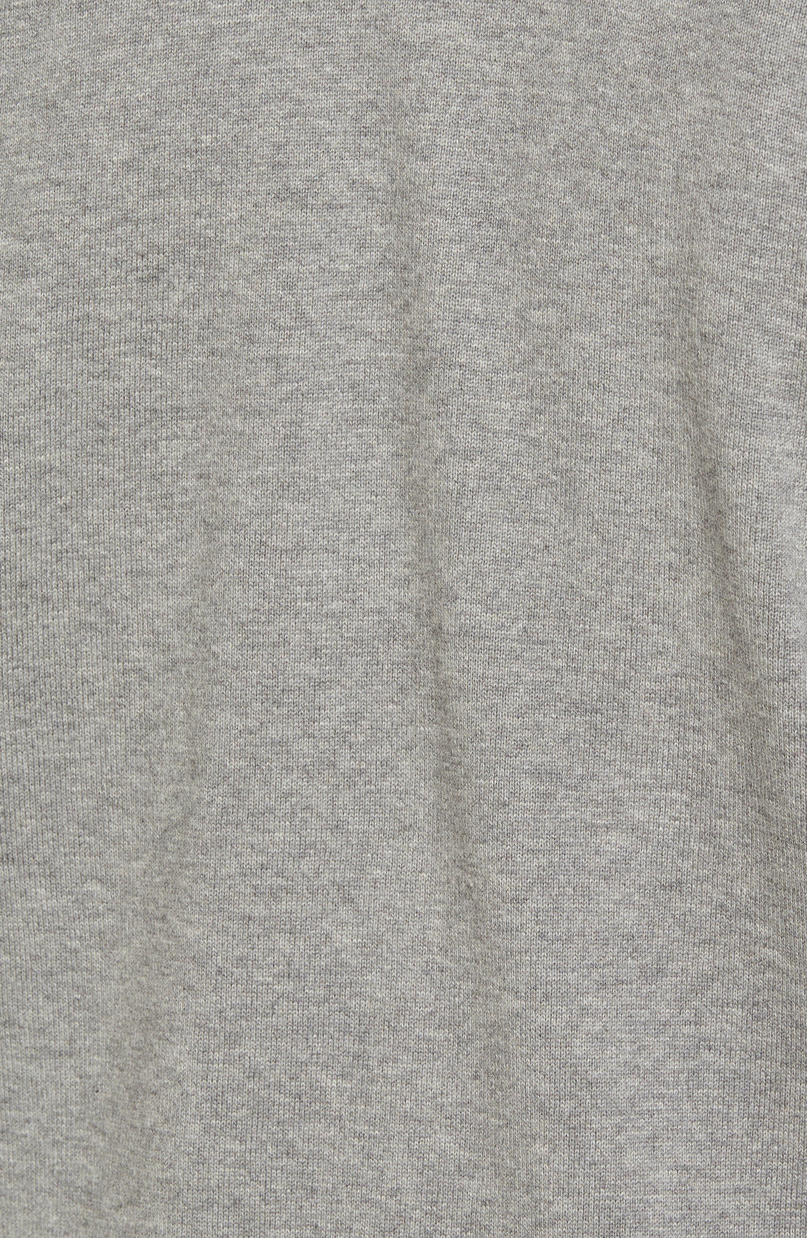 Alternate Image 5  - James Perse Colorblock Knit Track Jacket