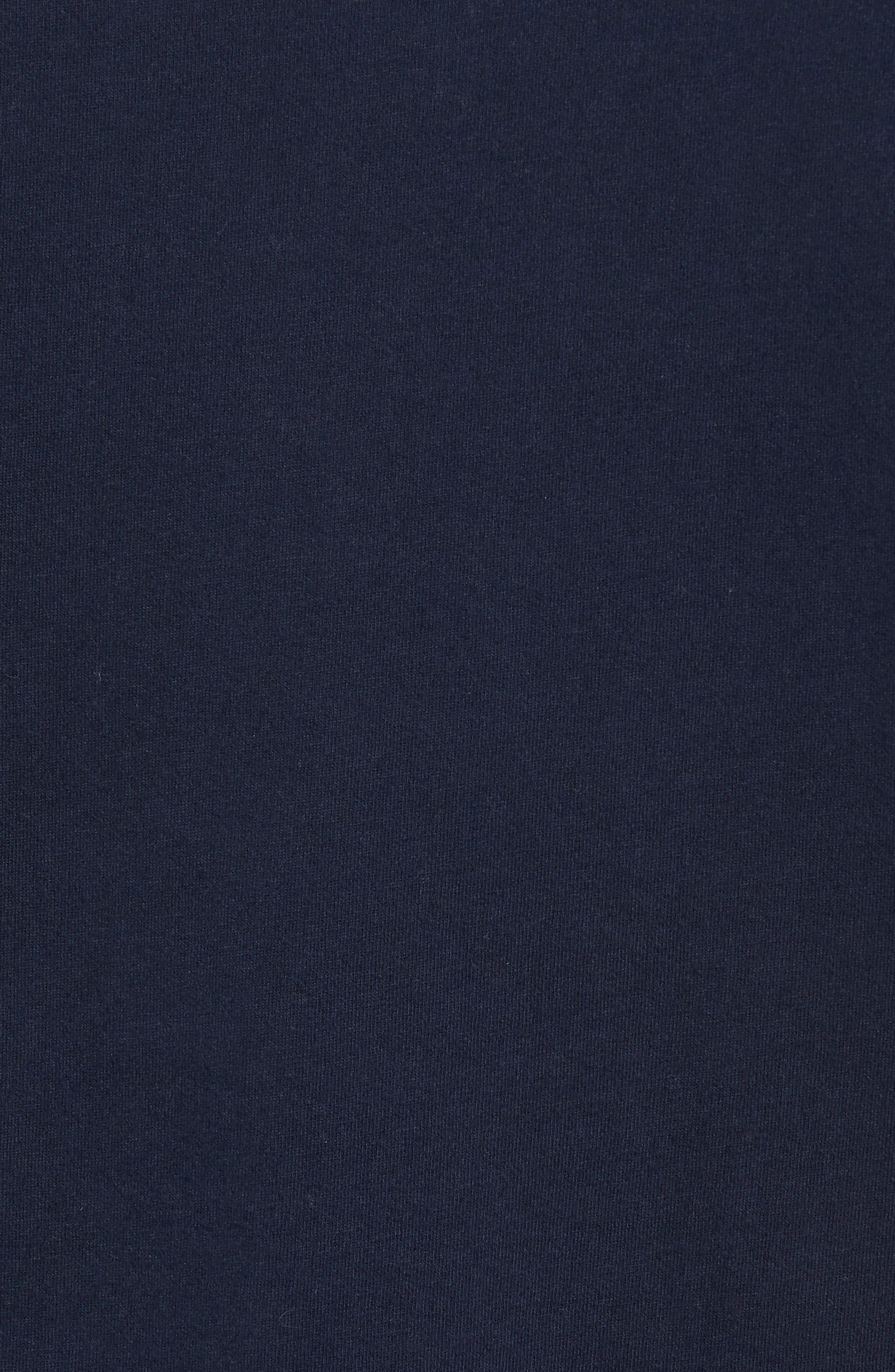 Berwick Logo Graphic T-Shirt,                             Alternate thumbnail 5, color,                             Navy