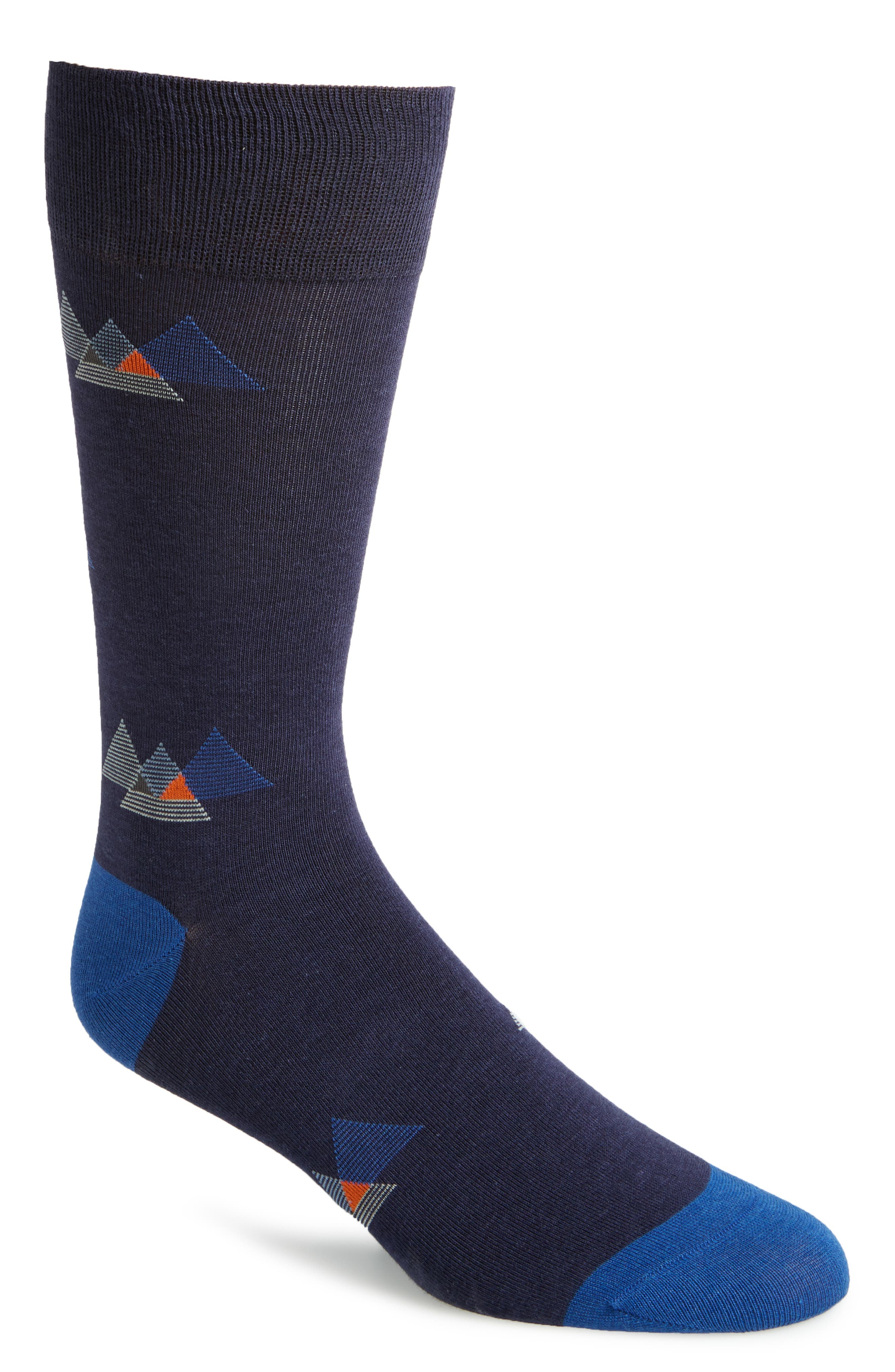 Alternate Image 1 Selected - Cole Haan Triangles Socks (3 for $30)