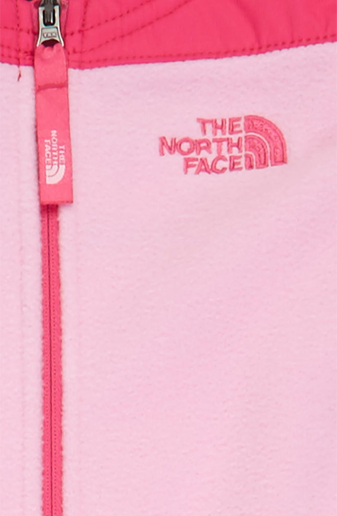 Alternate Image 2  - The North Face Heatseeker™ Insulated Waterproof Bib Snowsuit (Toddler Girls & Little Girls)