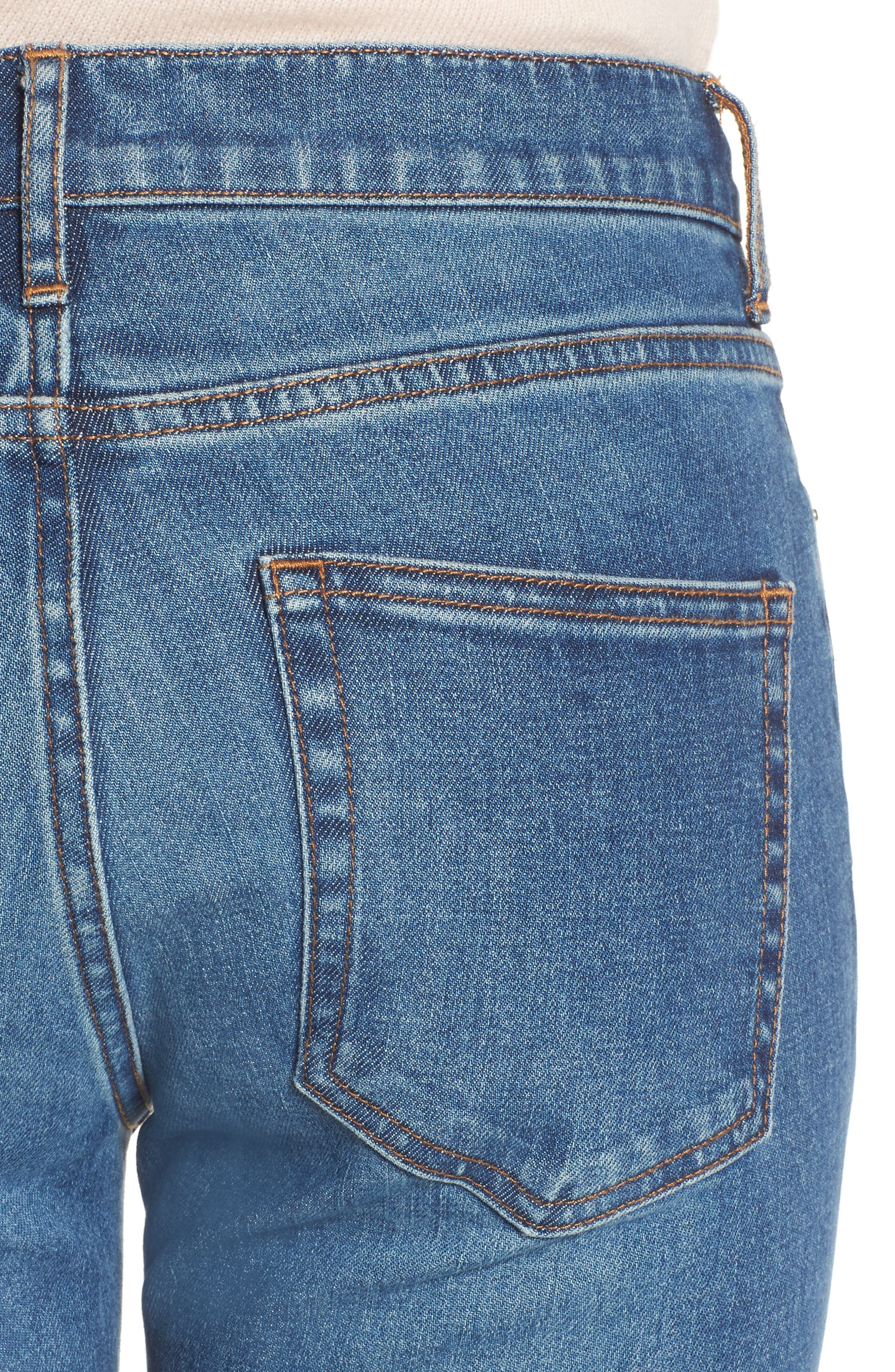 Alternate Image 4  - Everlane The Mid Rise Skinny Ankle Jeans