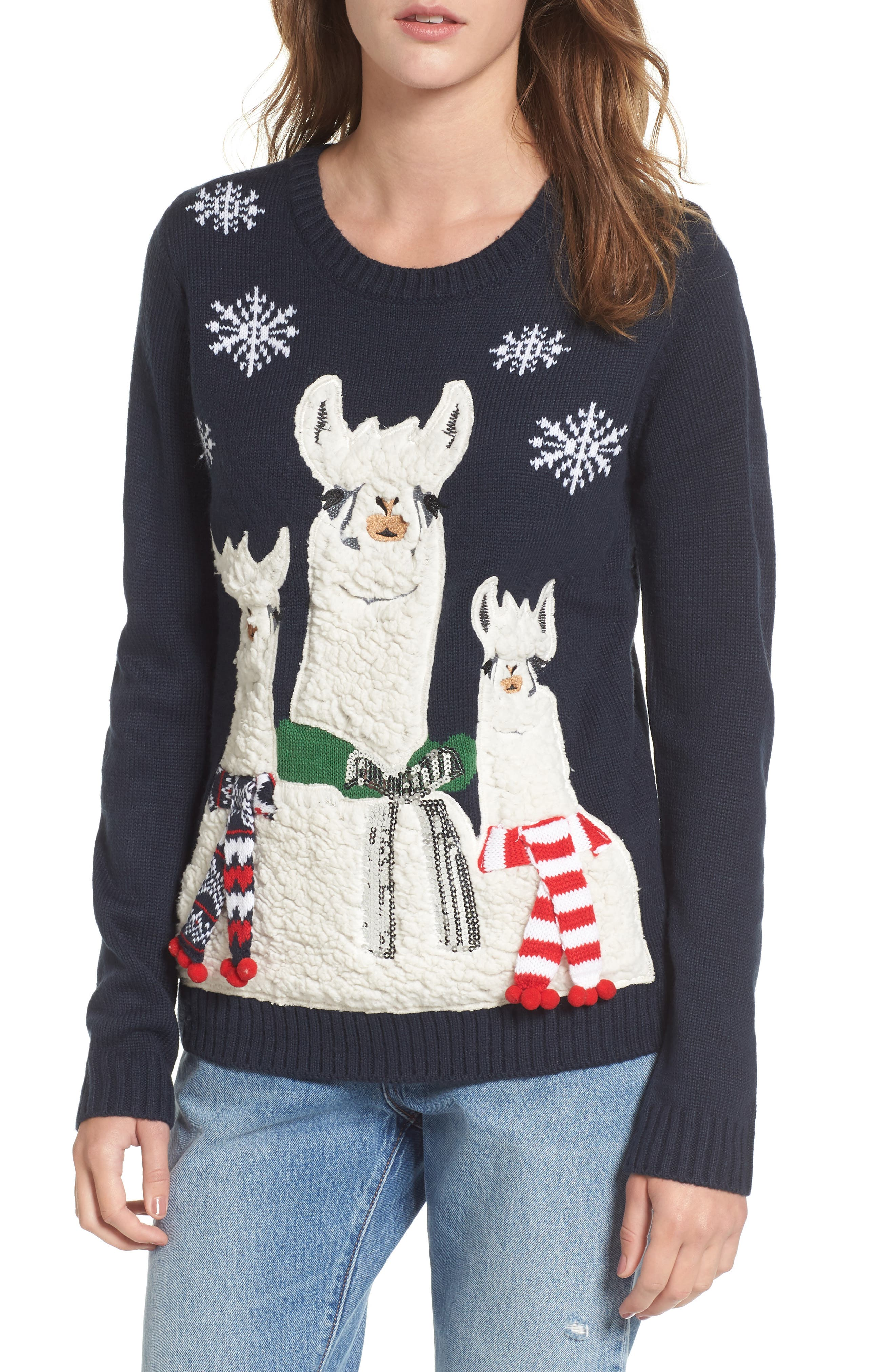 Love by Design Holiday Llama Sweater
