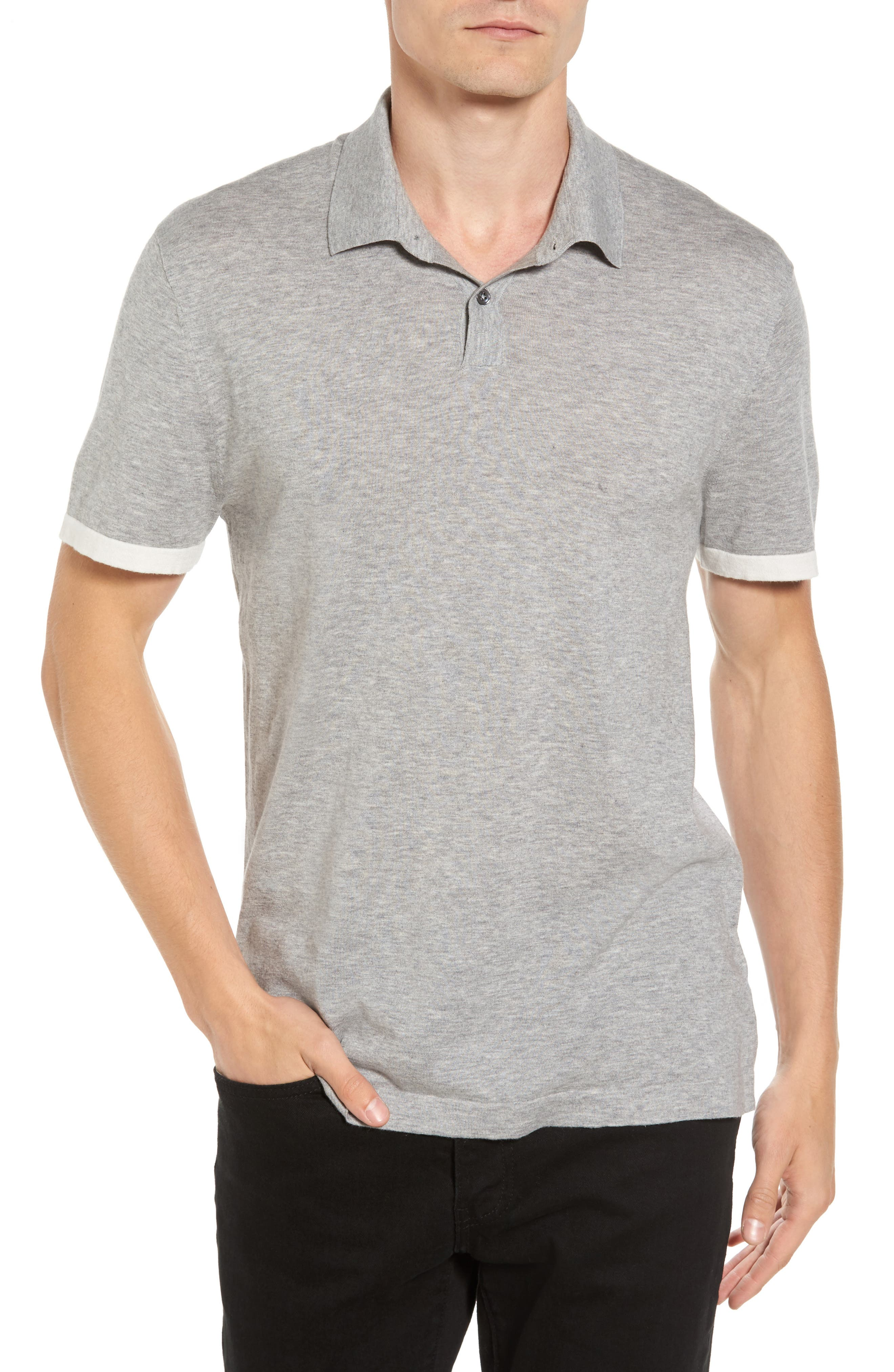 Main Image - James Perse Ringer Polo