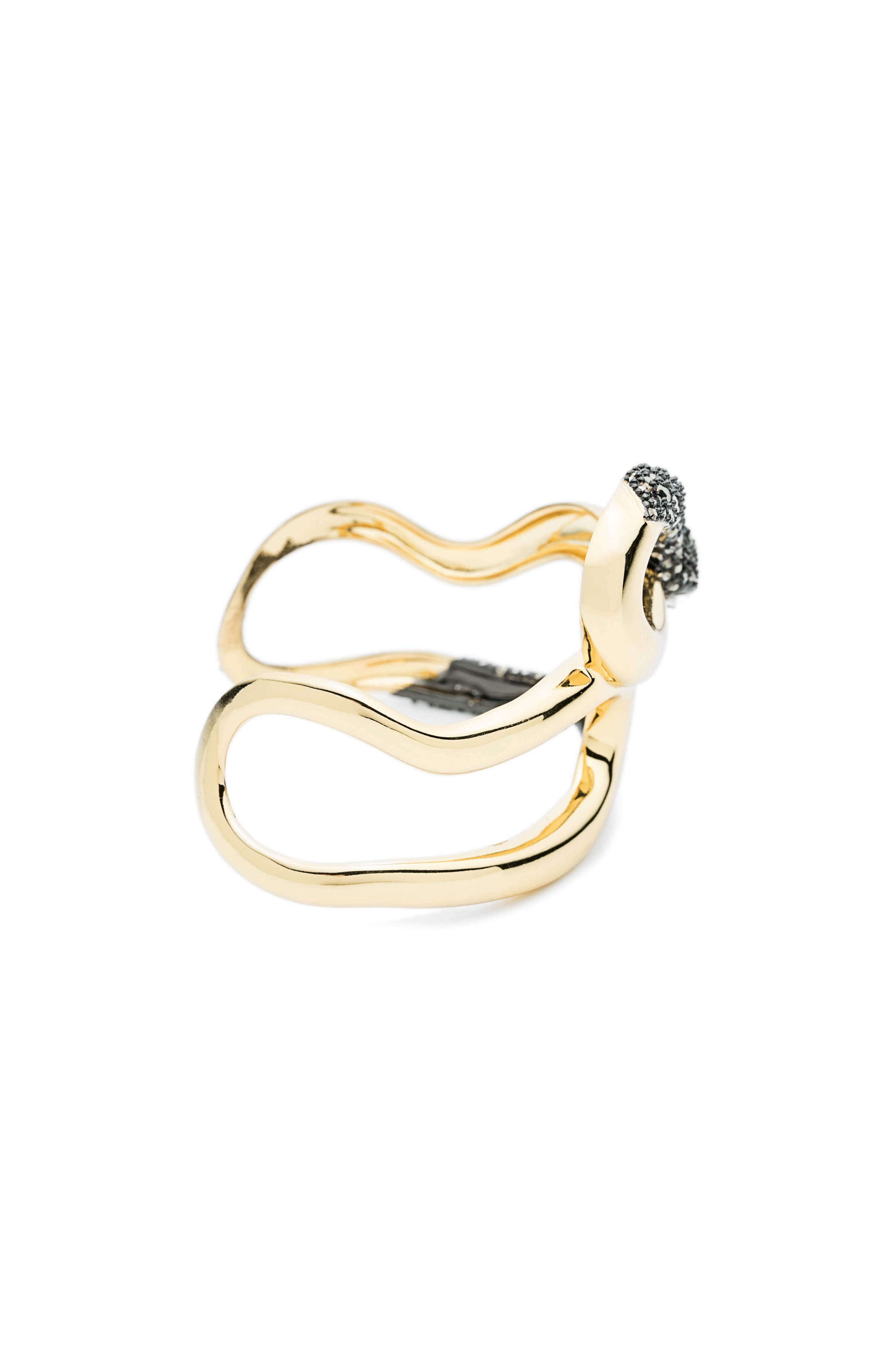 Alternate Image 3  - Alexis Bittar Crystal Accent Snake Cuff