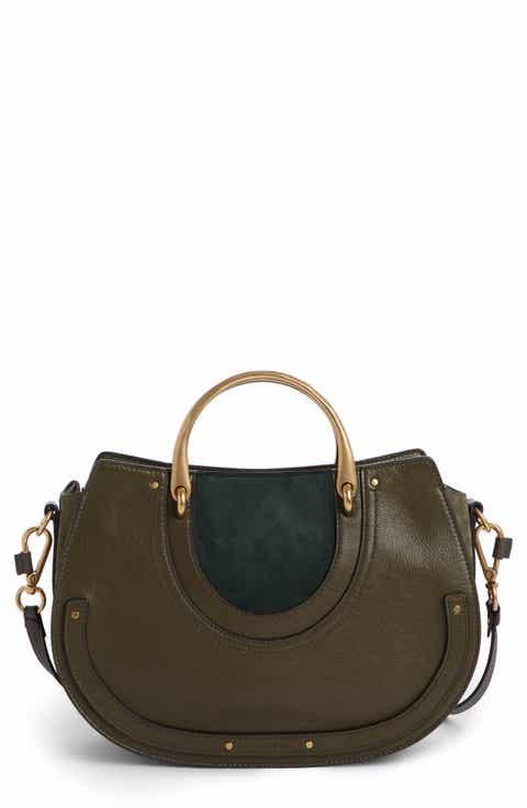 Women's Green Leather (Genuine) Designer Handbags & Purses | Nordstrom
