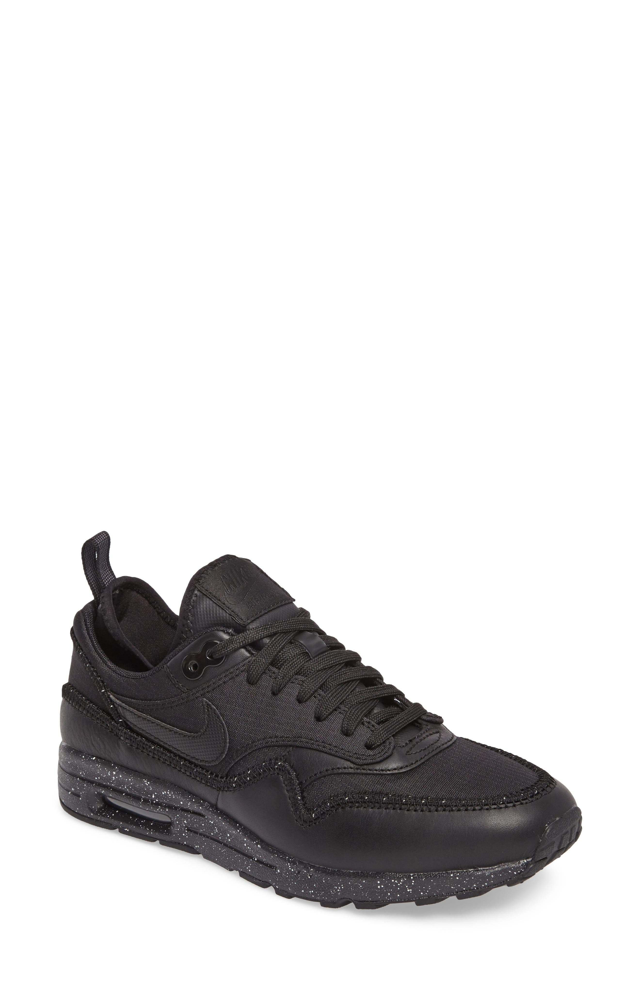 black and white nike air max shoes. nike air max 1 ultra 2.0 si sneaker (women) black and white shoes