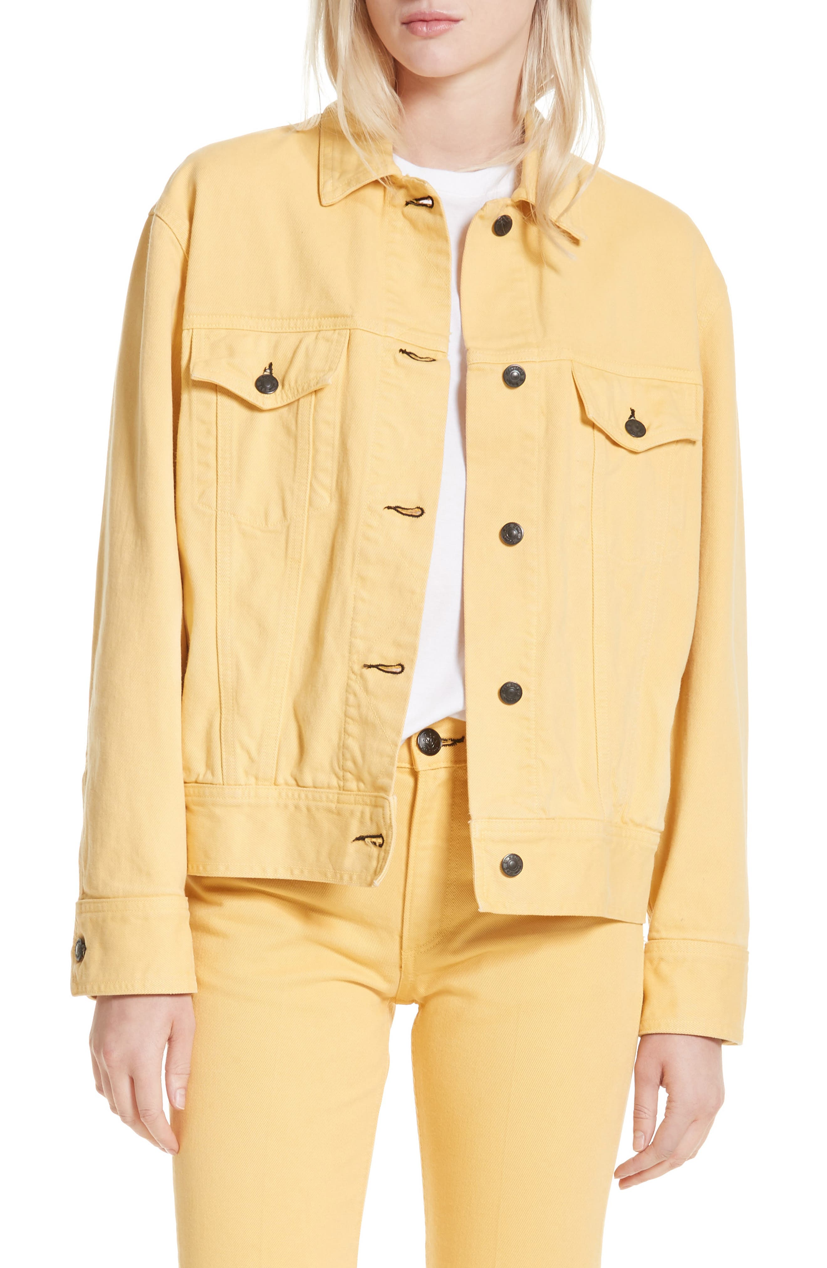 Main Image - rag & bone Oversize Twill Jacket