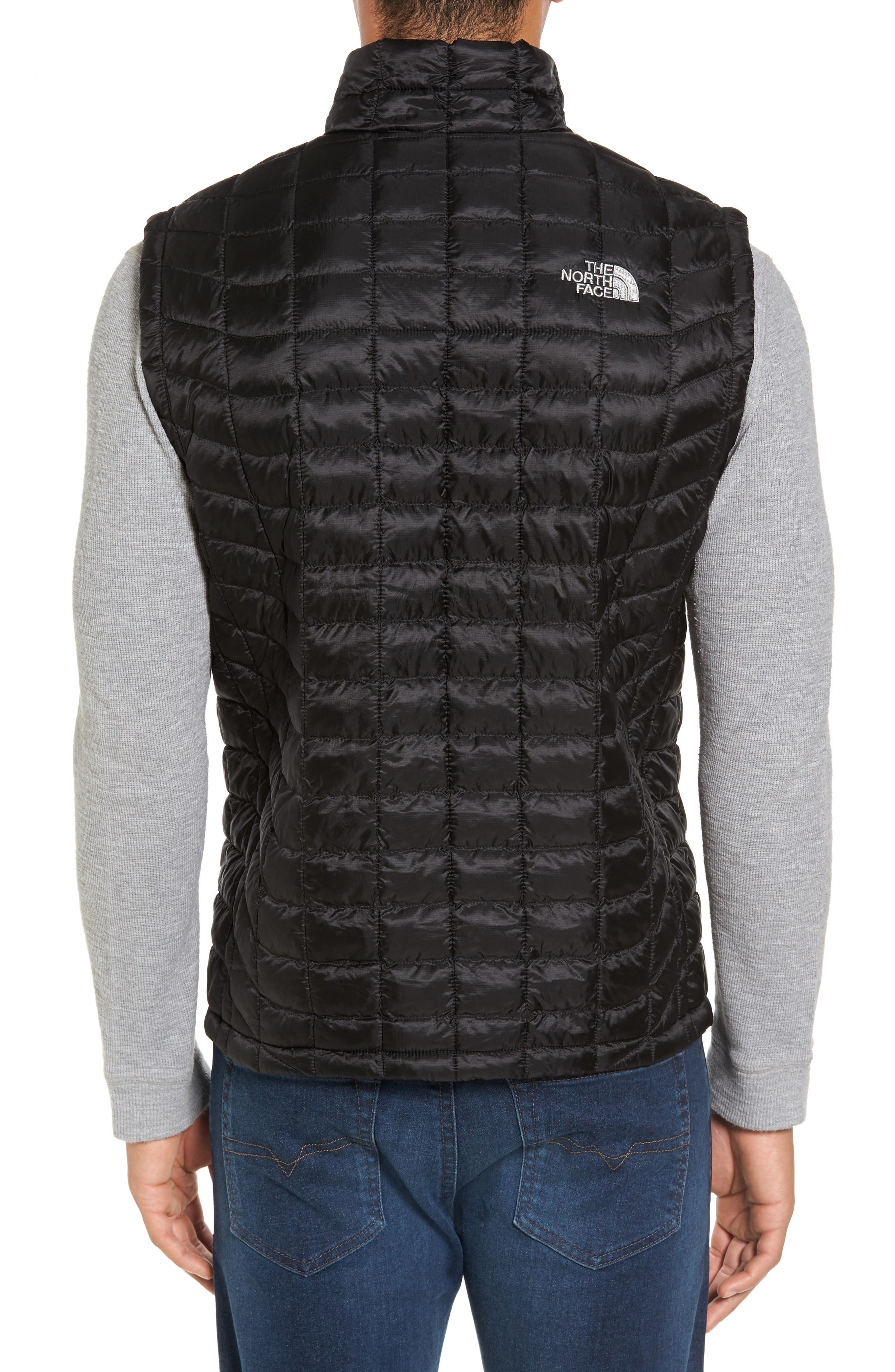'ThermoBall<sup>™</sup>' Packable PrimaLoft<sup>®</sup> Vest,                             Alternate thumbnail 2, color,                             Black