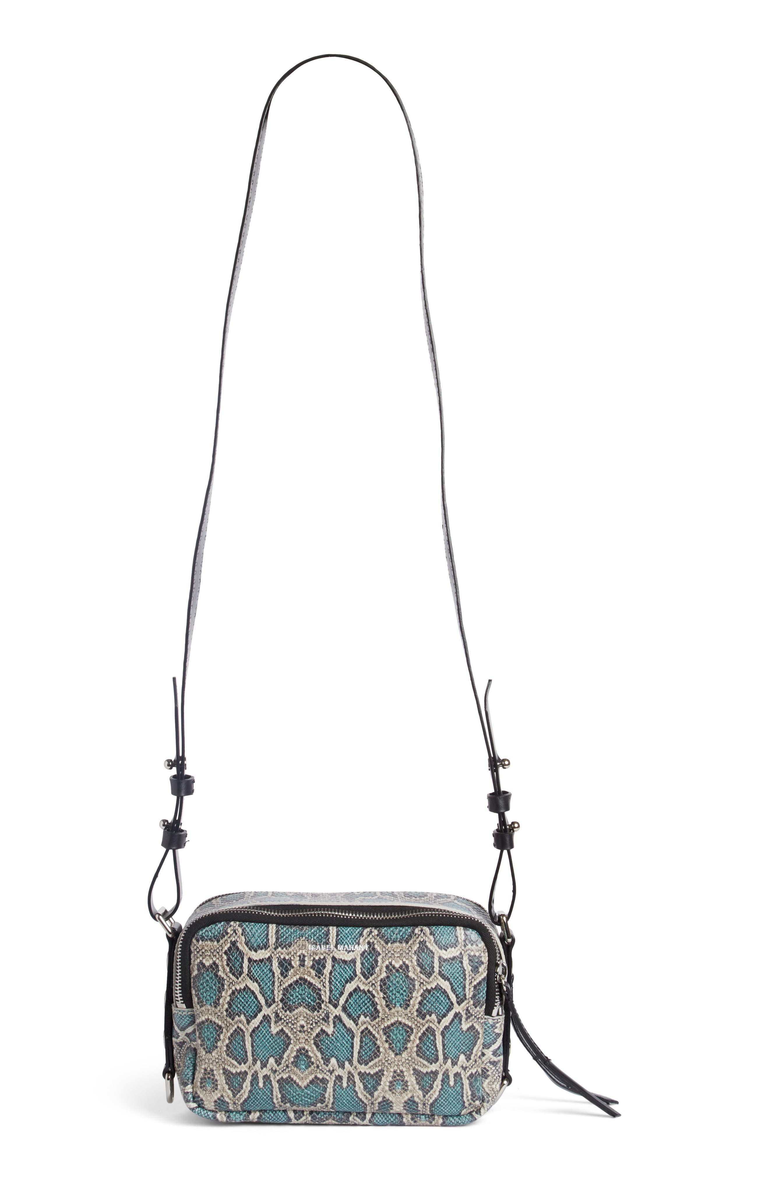 Main Image - Isabel Marant Tinley Studded Leather Crossbody Bag