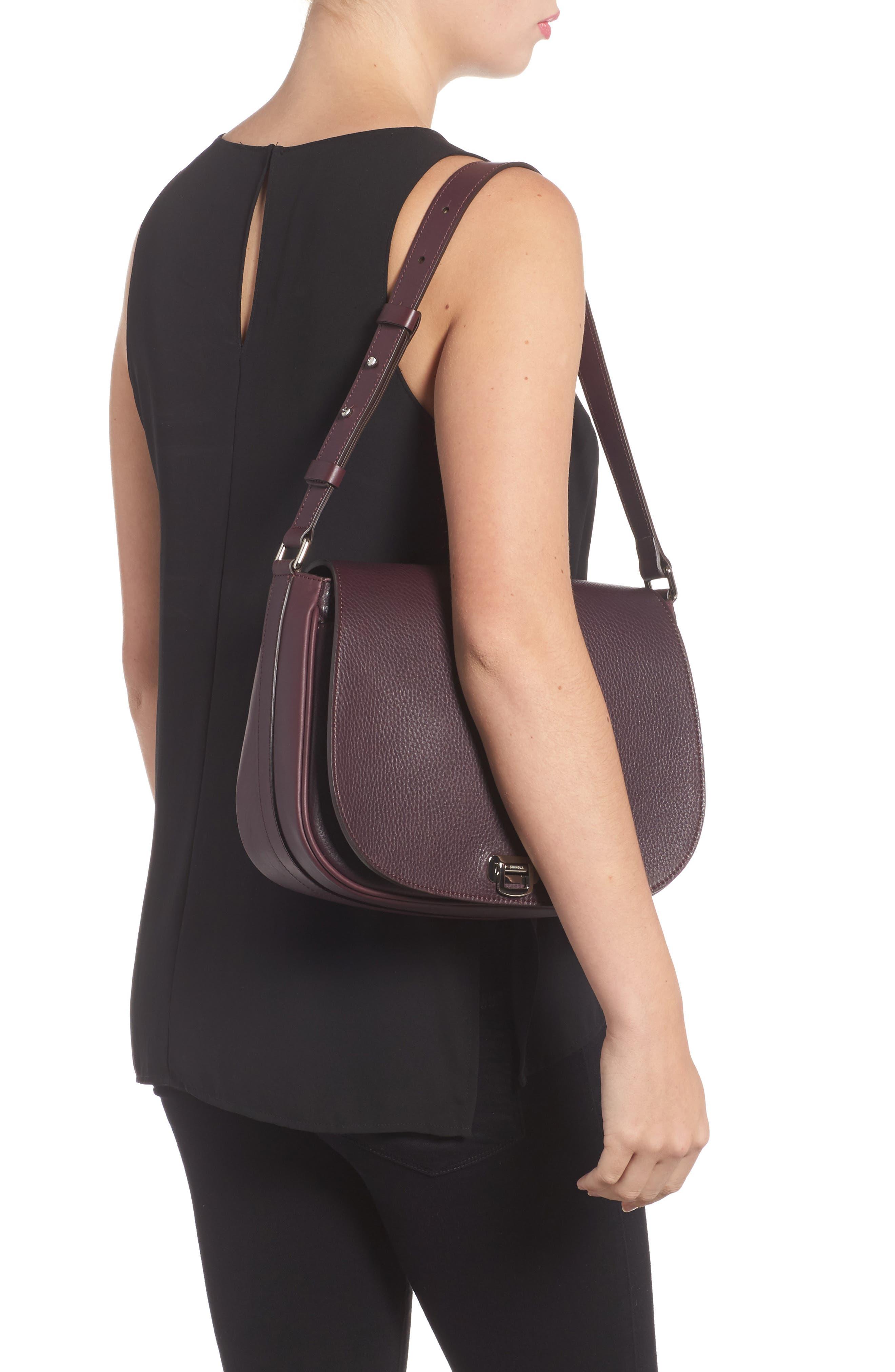 Alternate Image 2  - Shinola Calfskin Leather Shoulder Bag