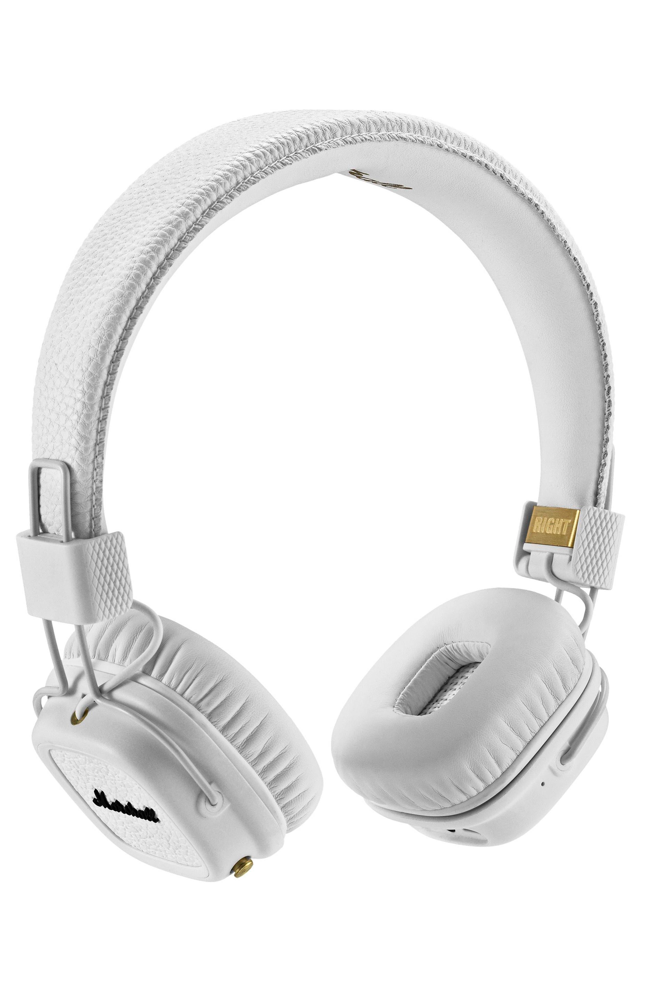 Major II Bluetooth<sup>®</sup> Headphones,                         Main,                         color, White