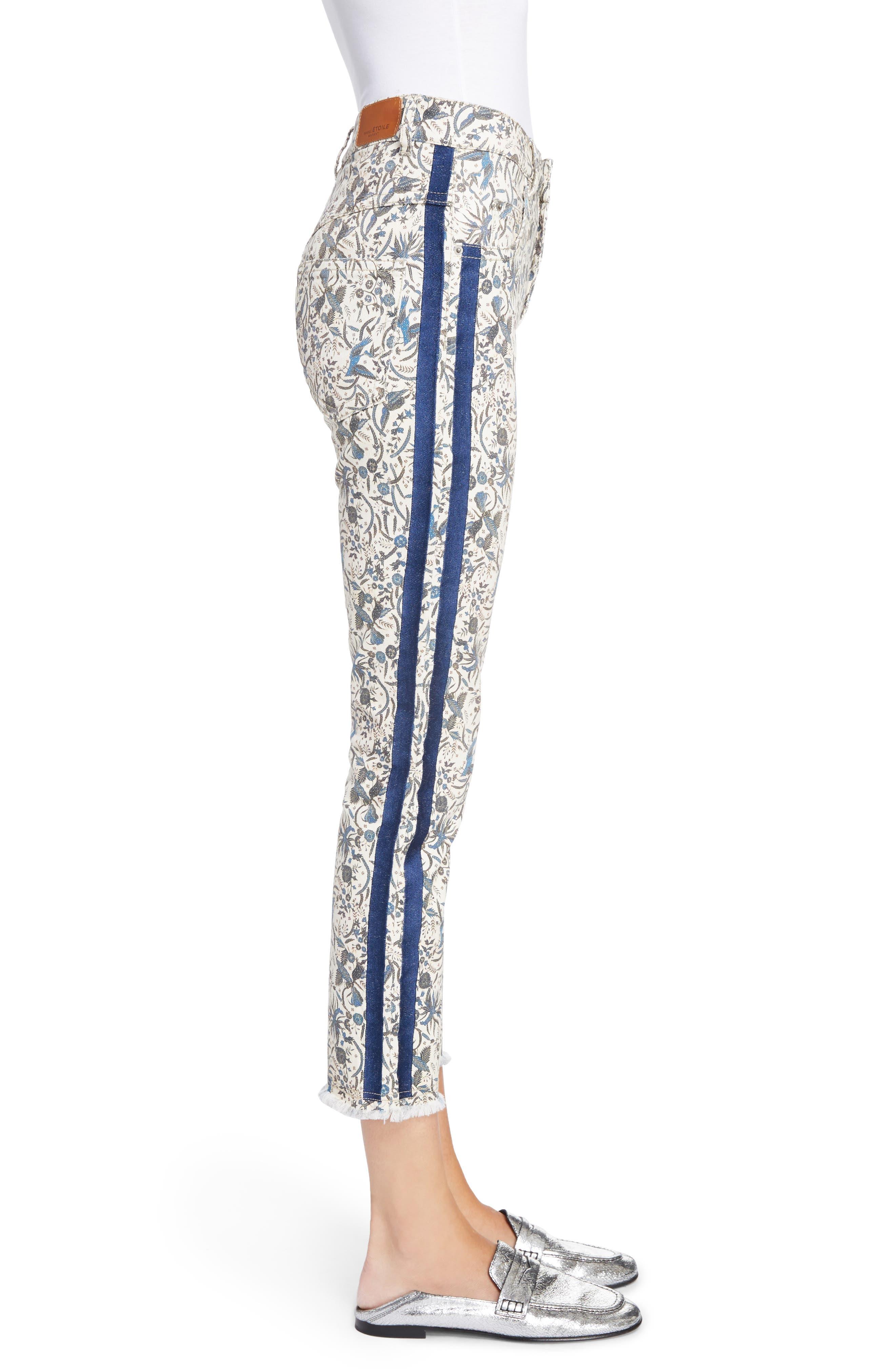 Alternate Image 3  - Isabel Marant Étoile Ugo Print Crop Jeans