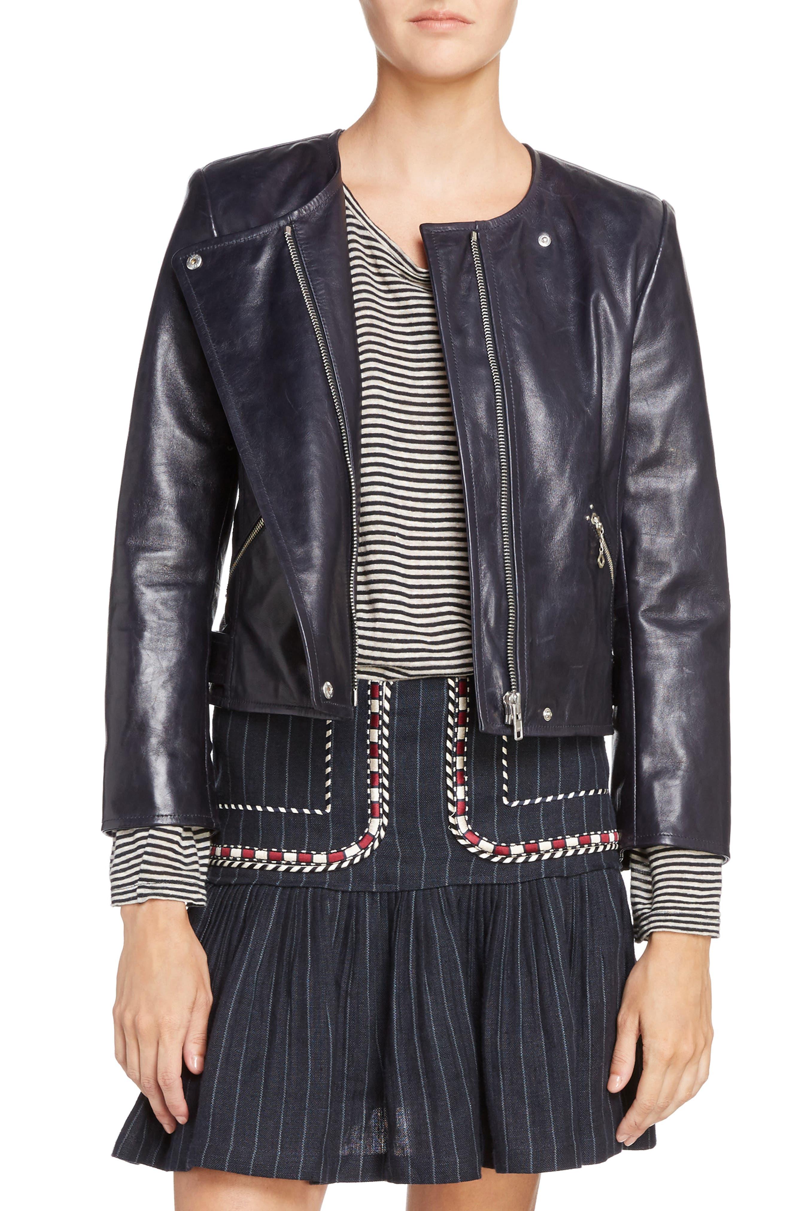 Isabel Marant Étoile Grinly Leather Jacket