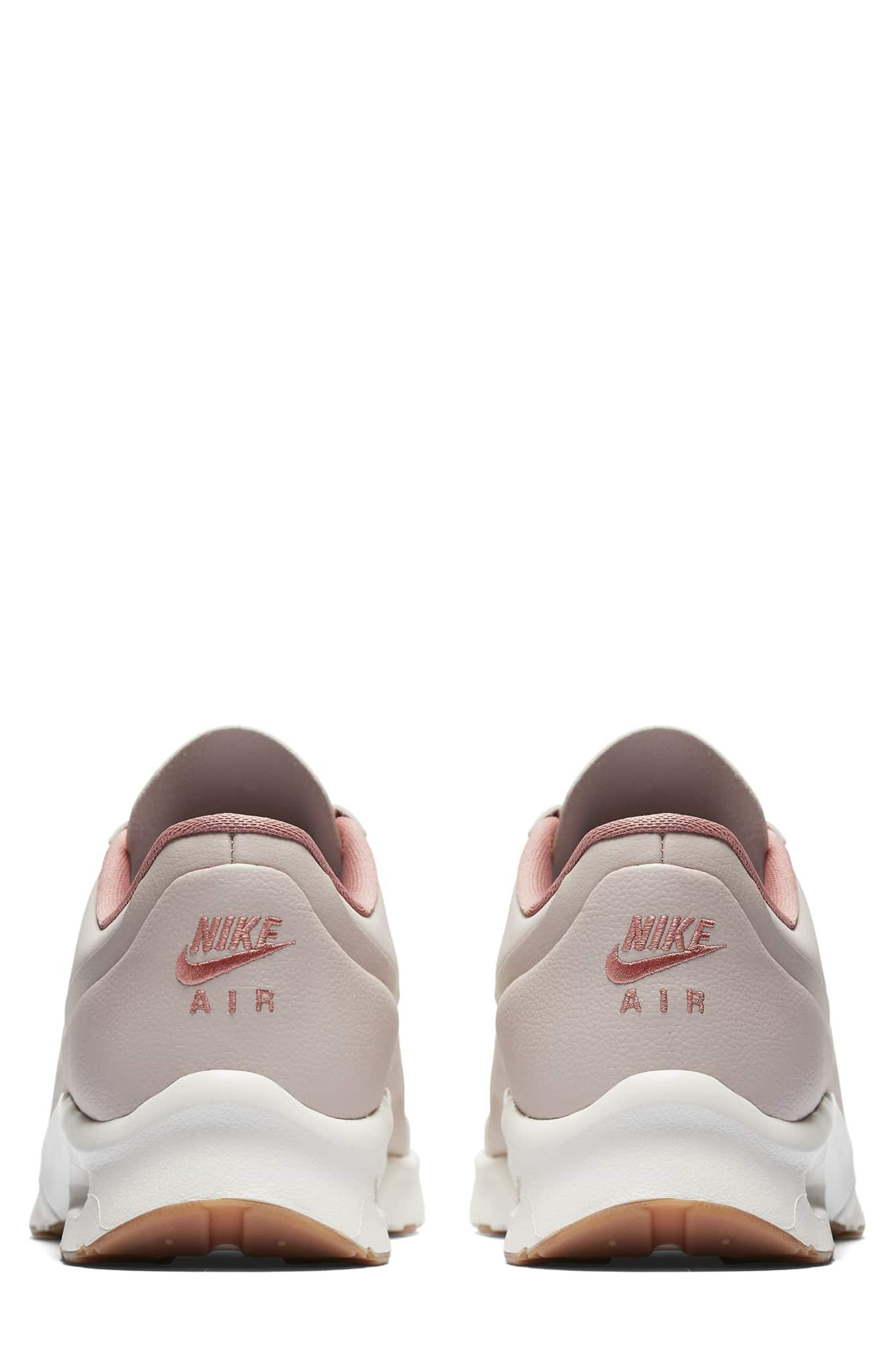 Air Max Jewell SE Sneaker,                             Alternate thumbnail 2, color,                             Red/ Red Stardust/ Sail