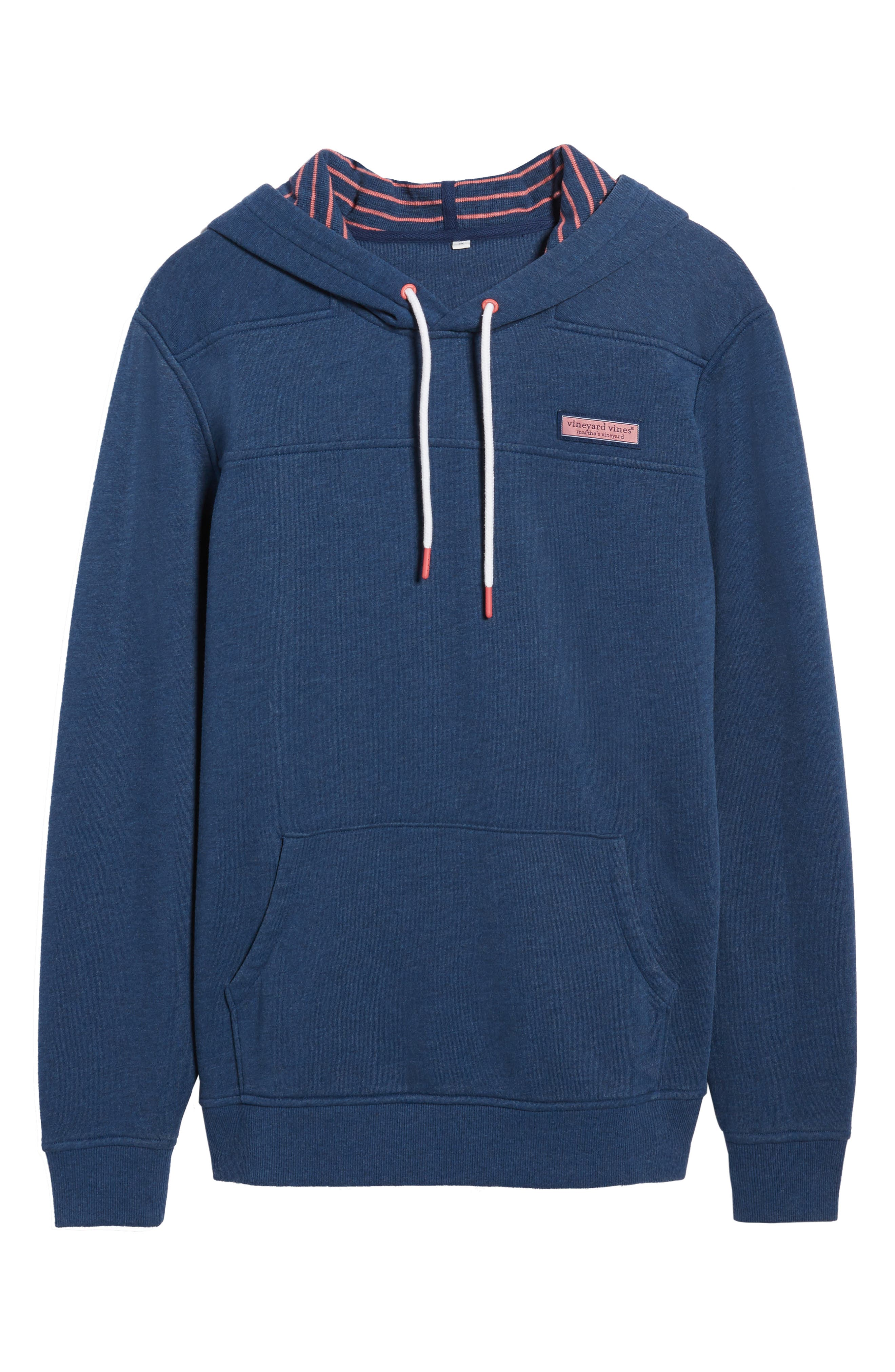 Alternate Image 6  - vineyard vines Washed Cotton Pullover Hoodie