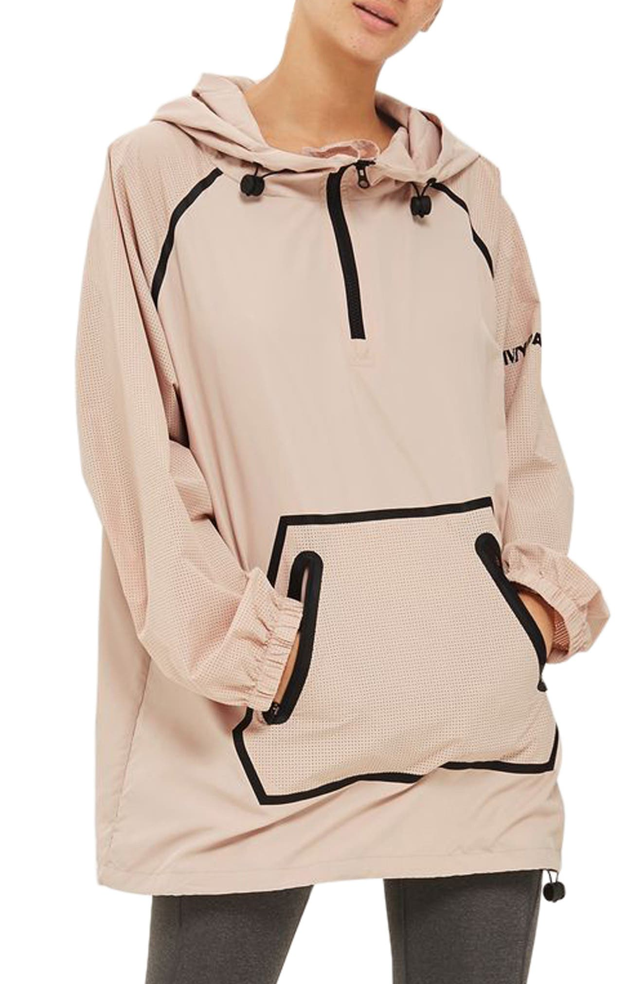 IVY PARK® Perforated Pullover Jacket