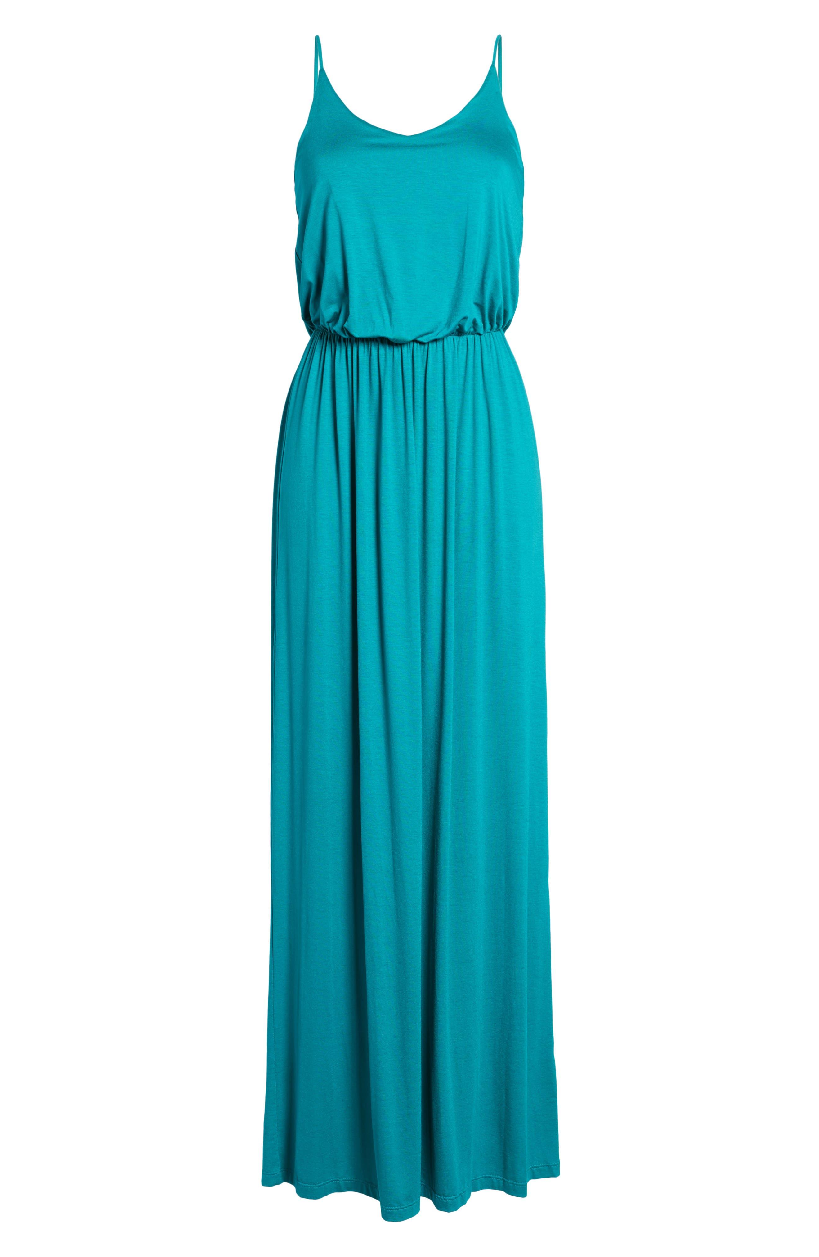 Alternate Image 5  - Knit Maxi Dress