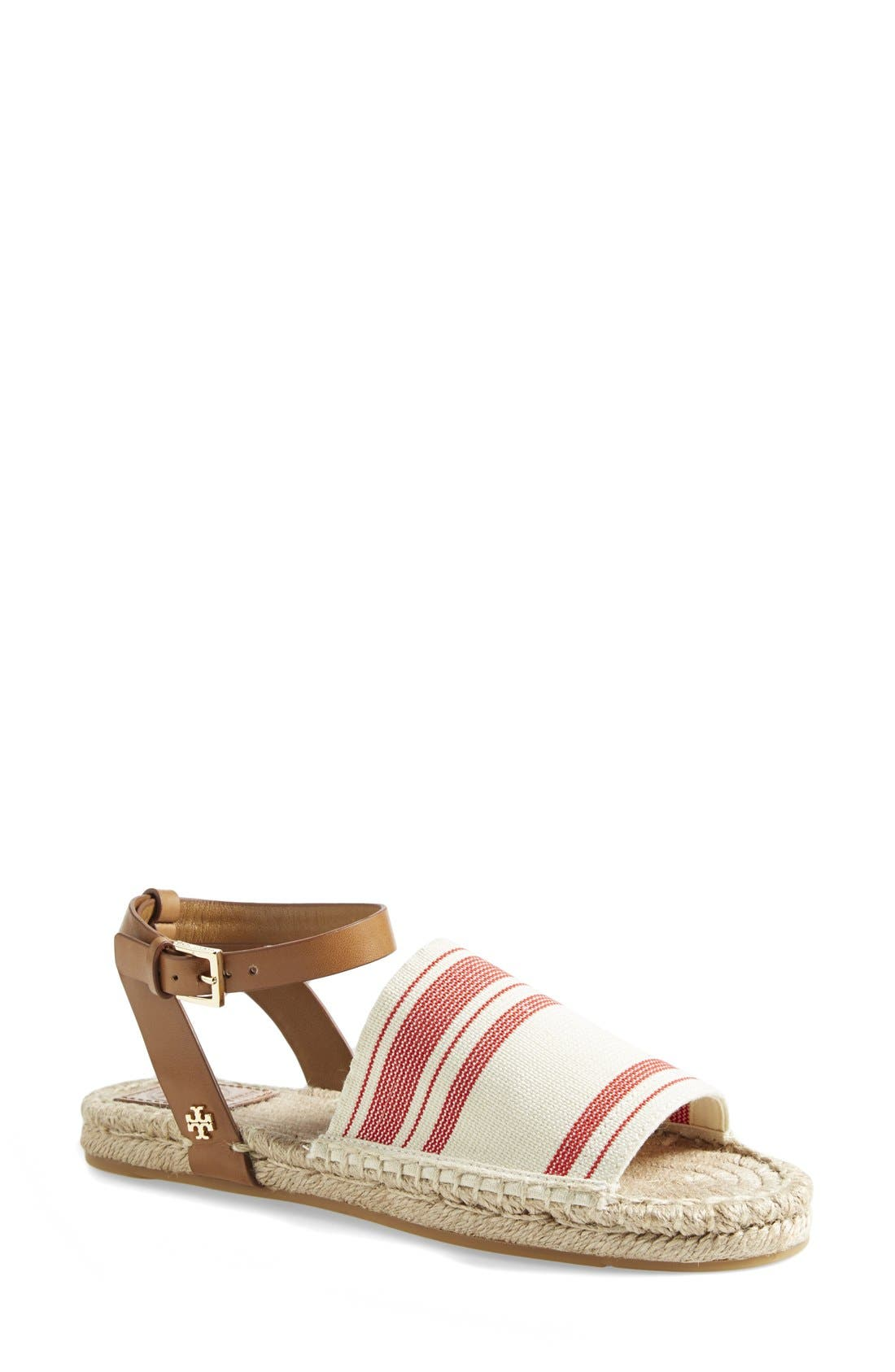 Alternate Image 1 Selected - Tory Burch Espadrille Sandal (Women)