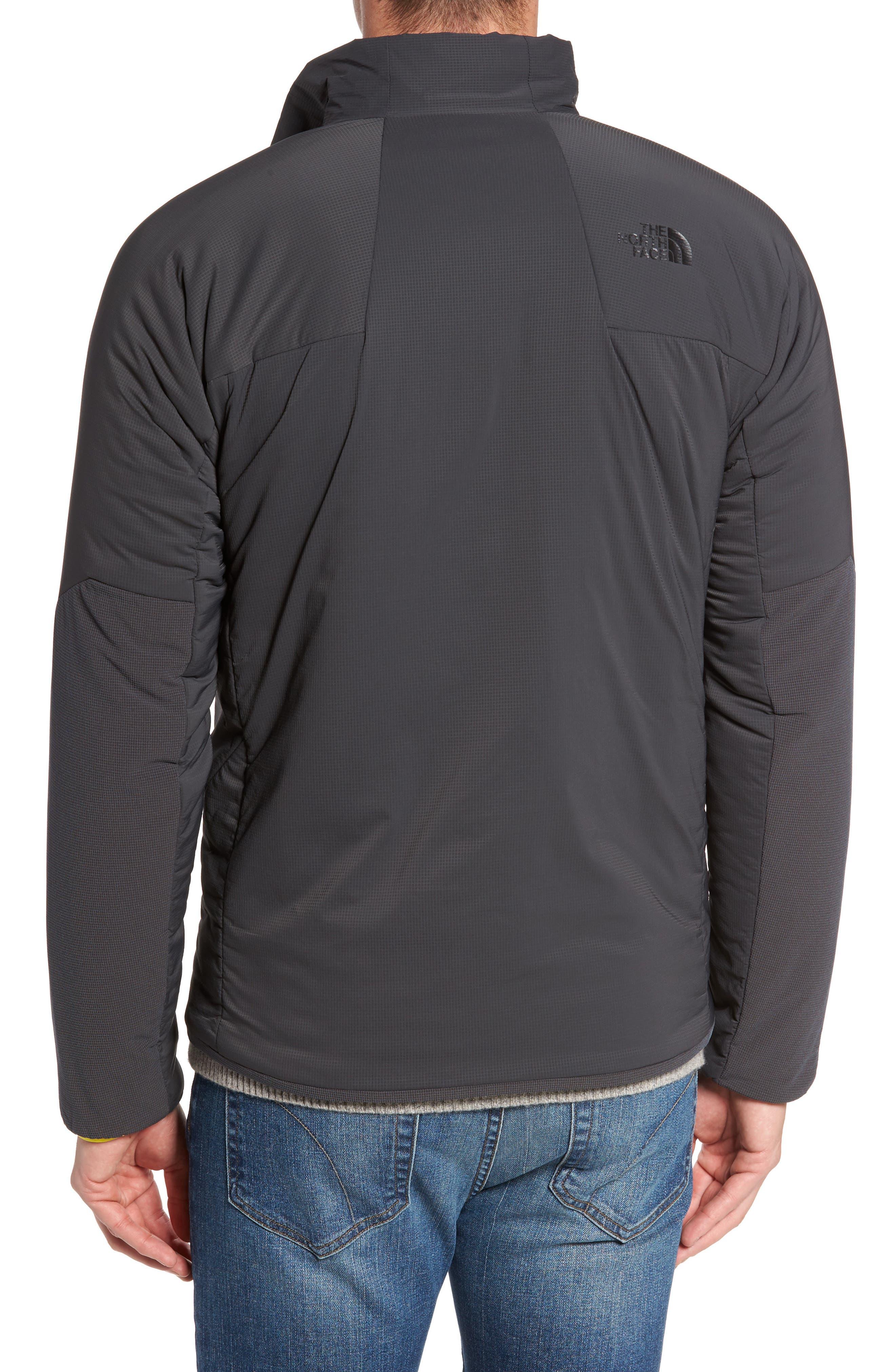 Ventrix Water Resistant Ripstop Jacket,                             Alternate thumbnail 2, color,                             Asphalt Grey / Acid Yellow