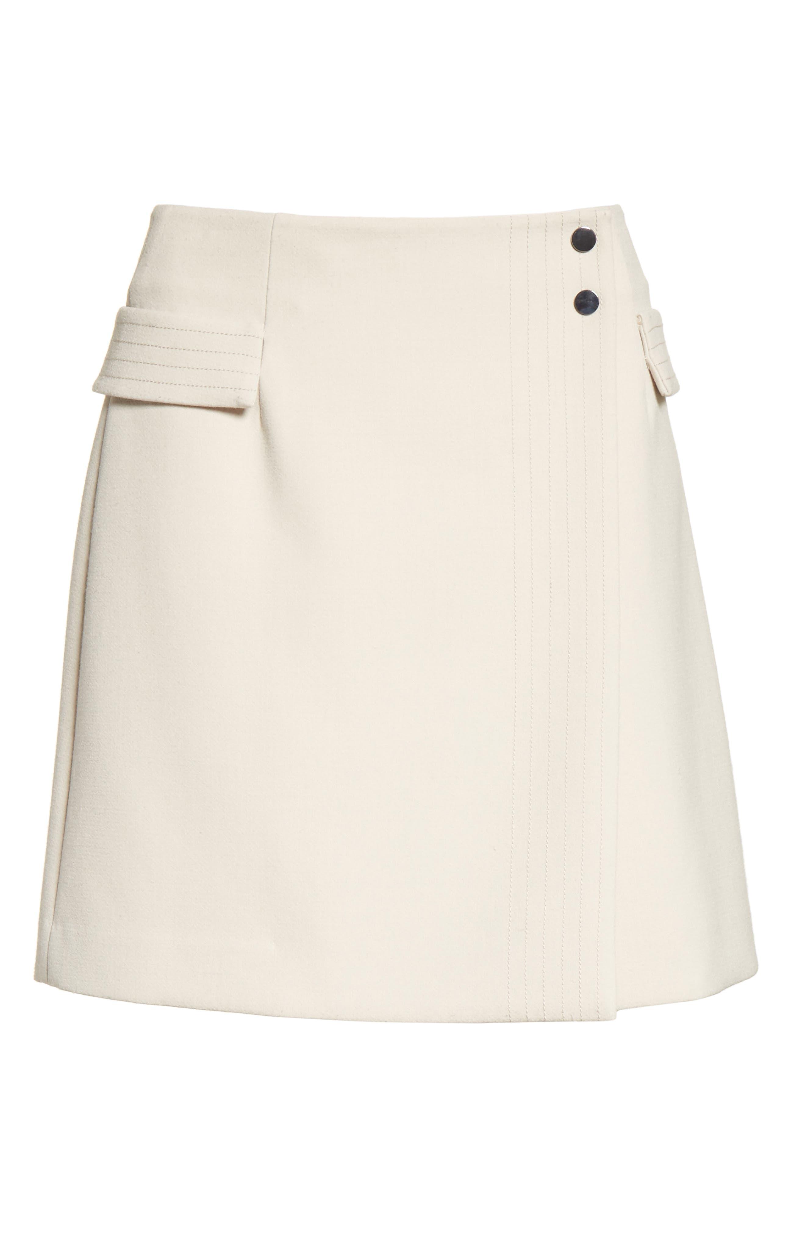 Alternate Image 7  - Armani Jeans Crepe Wrap Skirt