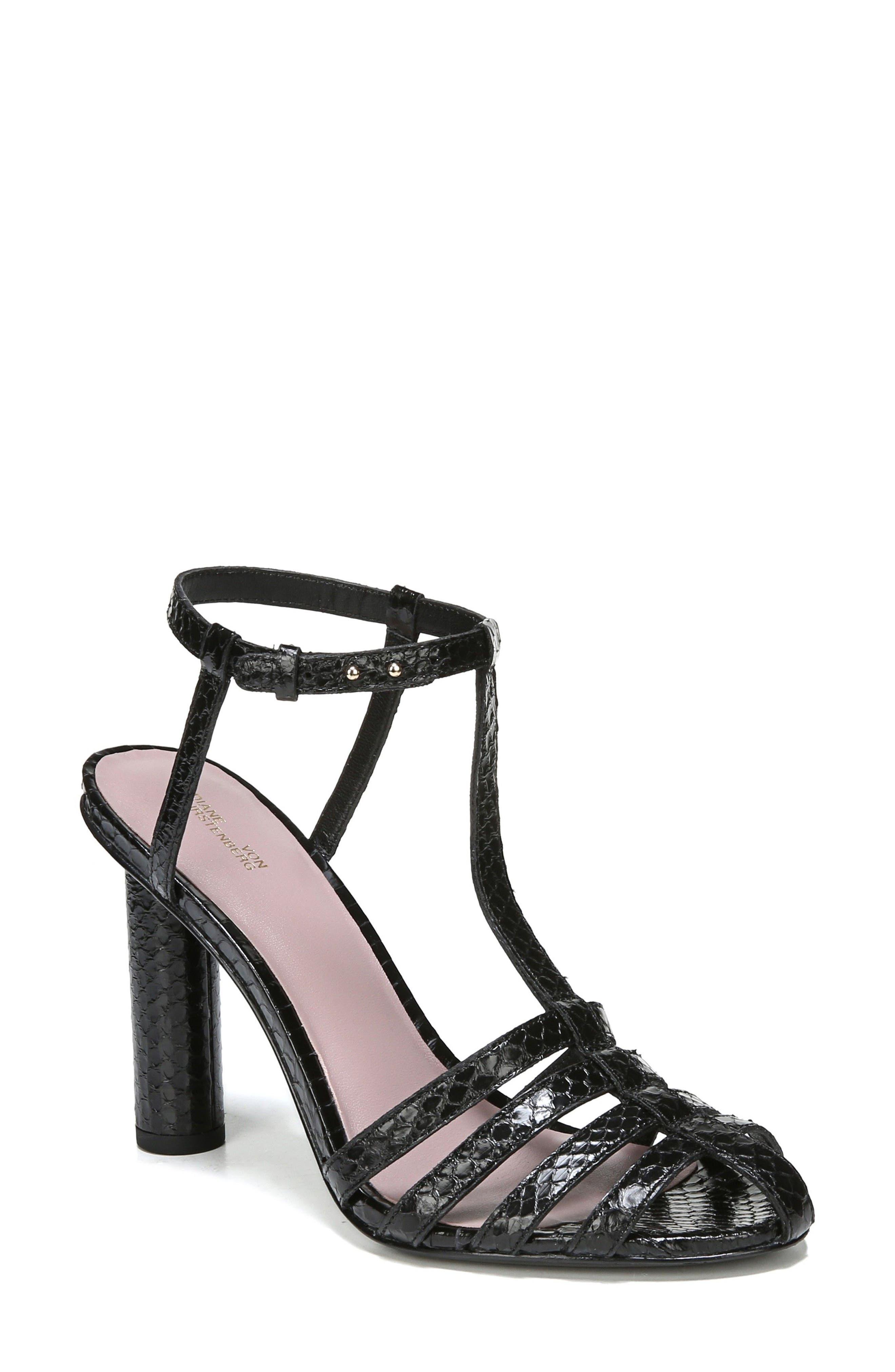 Diane von Furstenberg Eva T-Strap Sandal (Women)