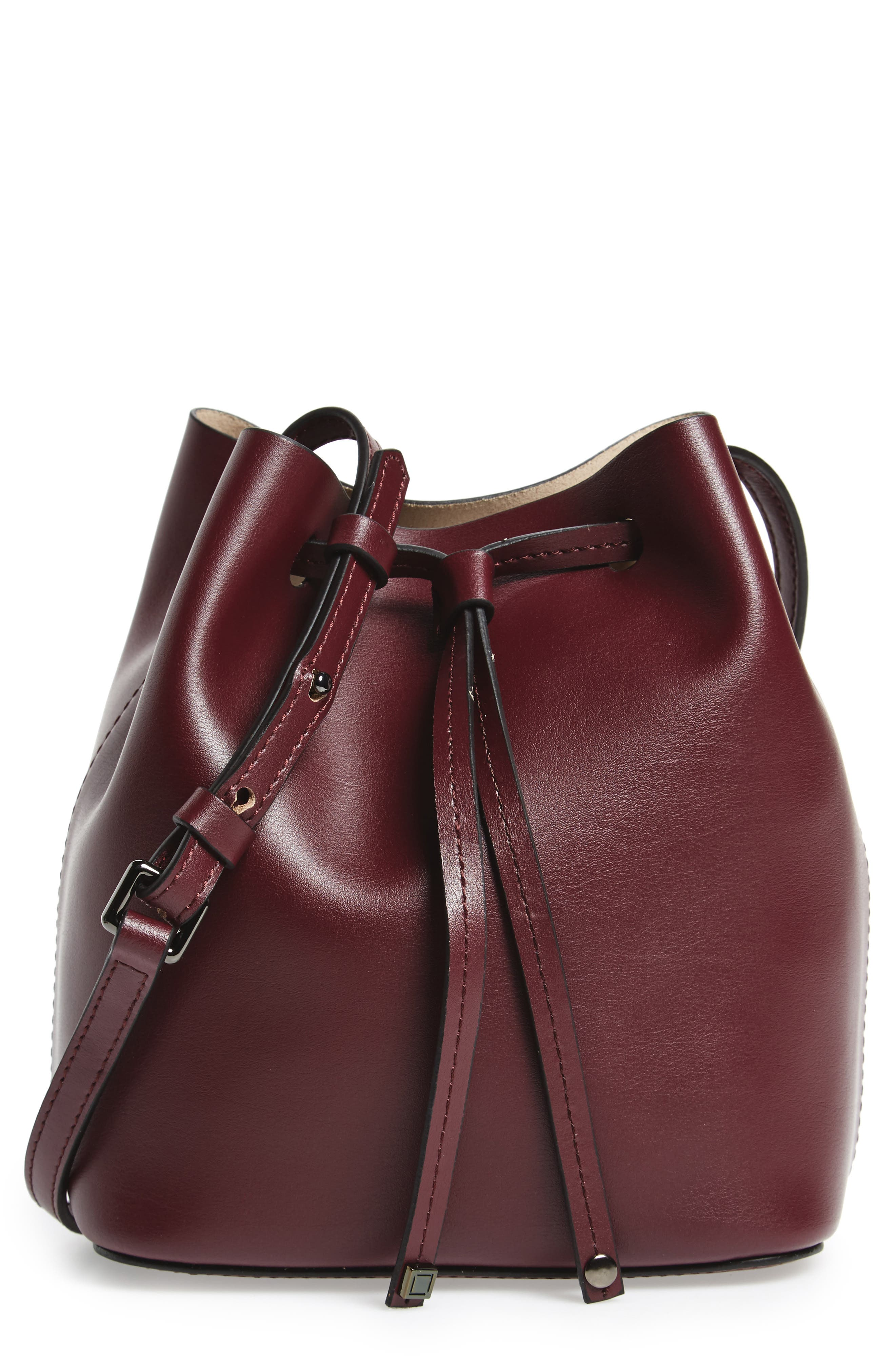 Lodis Small Silicon Valley Blake RFID Leather Bucket Bag