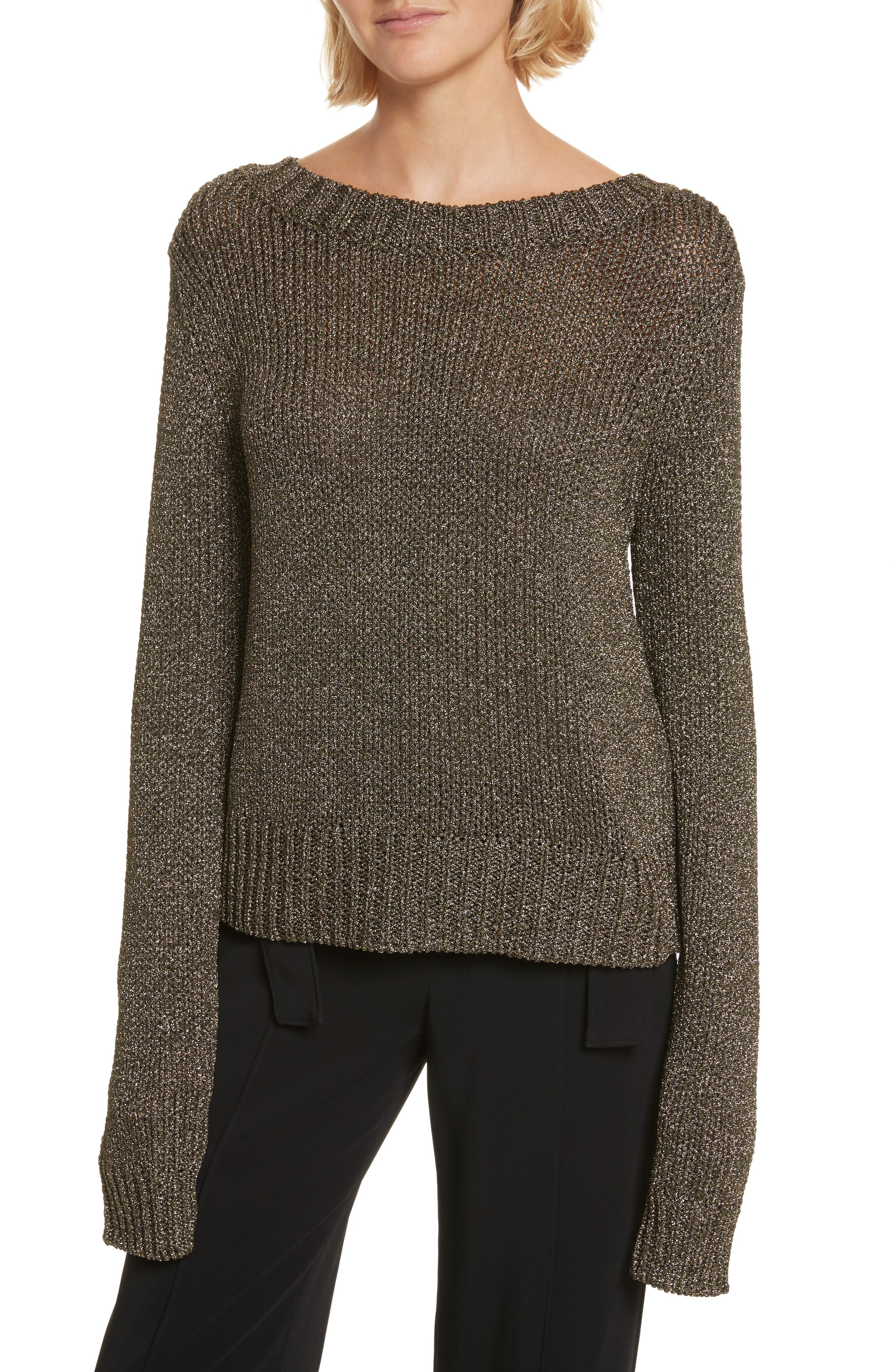 Alternate Image 2  - A.L.C. Marjorie Lace-Up Back Sweater