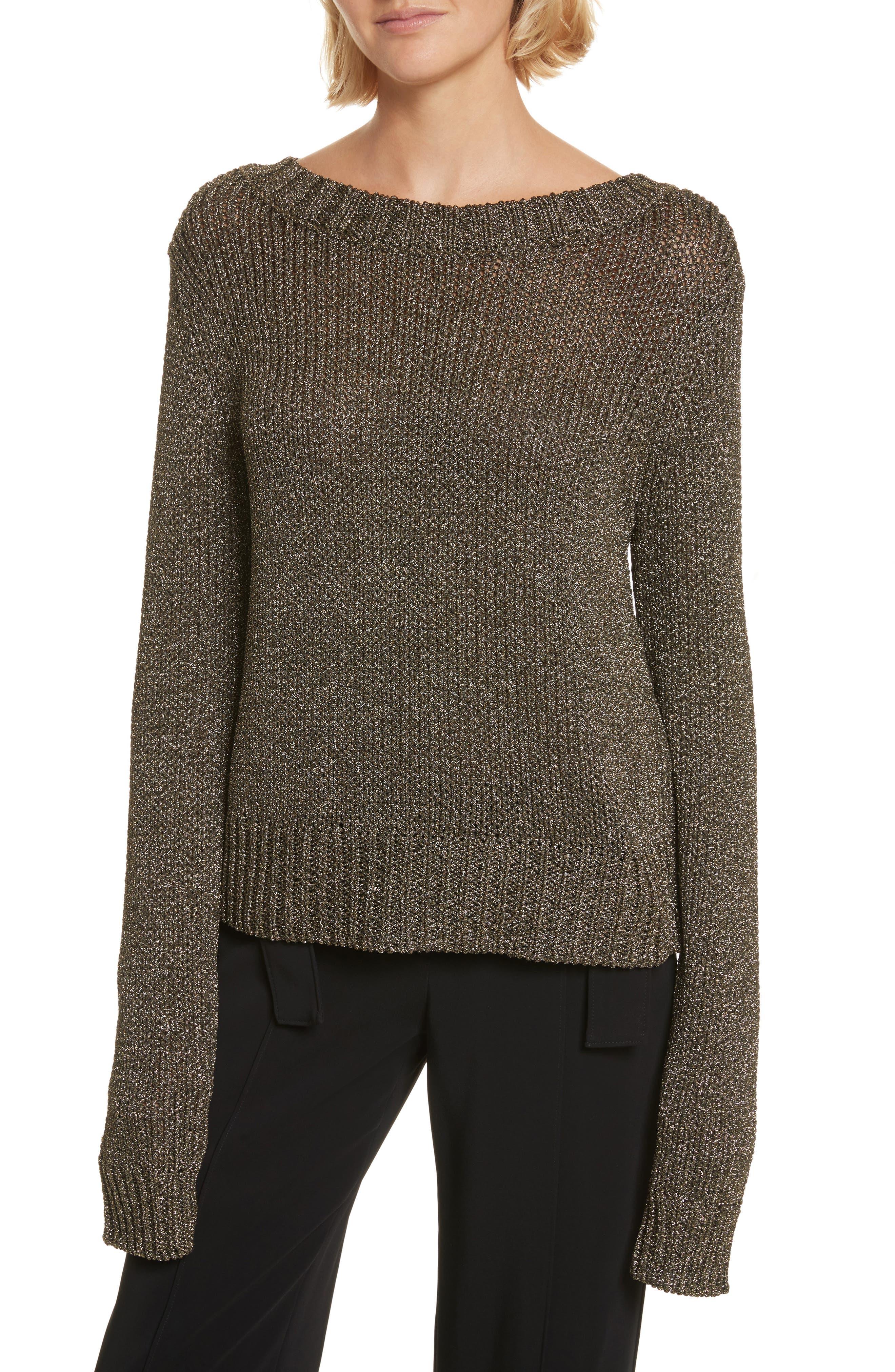 A.L.C. Marjorie Lace-Up Back Sweater