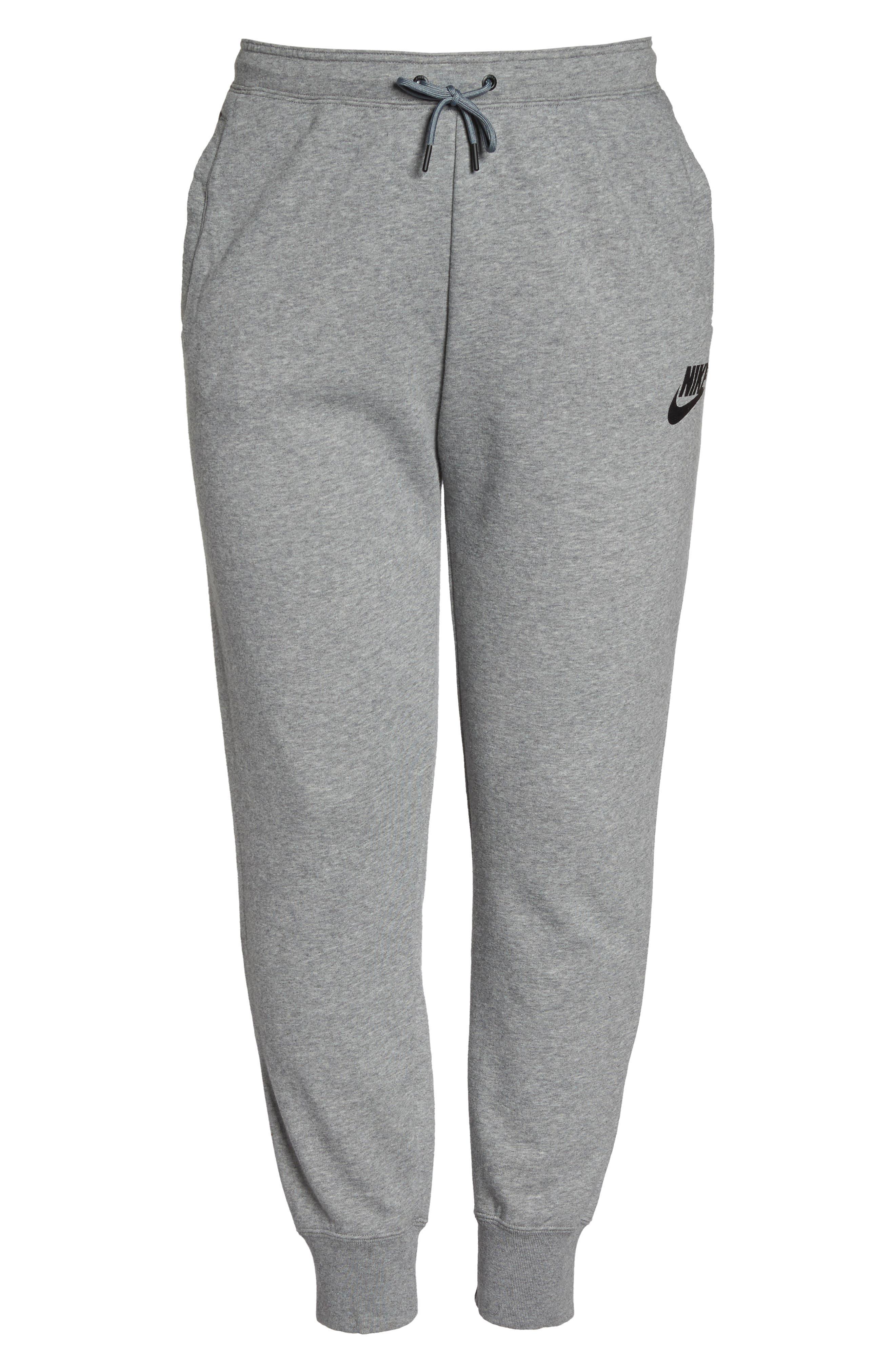 Alternate Image 6  - Nike Drawstring Fleece Pants (Plus Size)